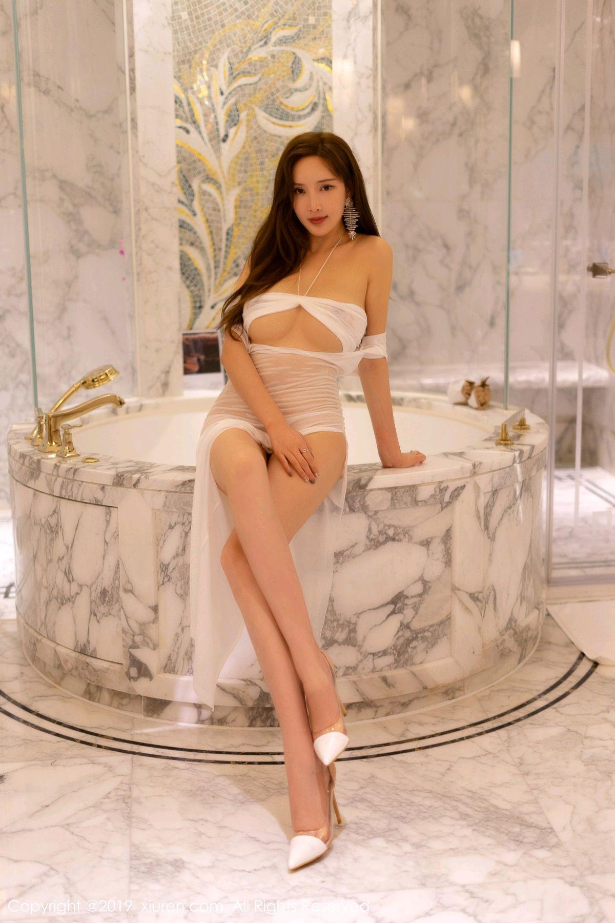 [XiuRen] Vol.1575 Zhou Yan Xi 8P, Adult, Bathroom, Mu Mu Baby, Xiuren, Zhou Yan Xi