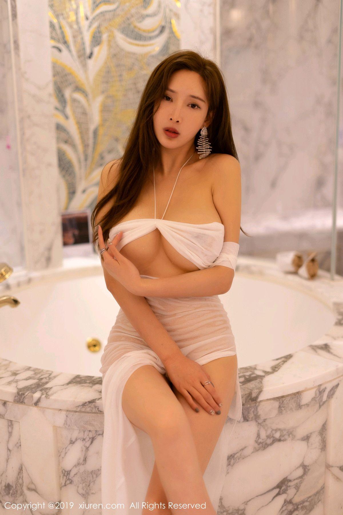 [XiuRen] Vol.1575 Zhou Yan Xi 9P, Adult, Bathroom, Mu Mu Baby, Xiuren, Zhou Yan Xi