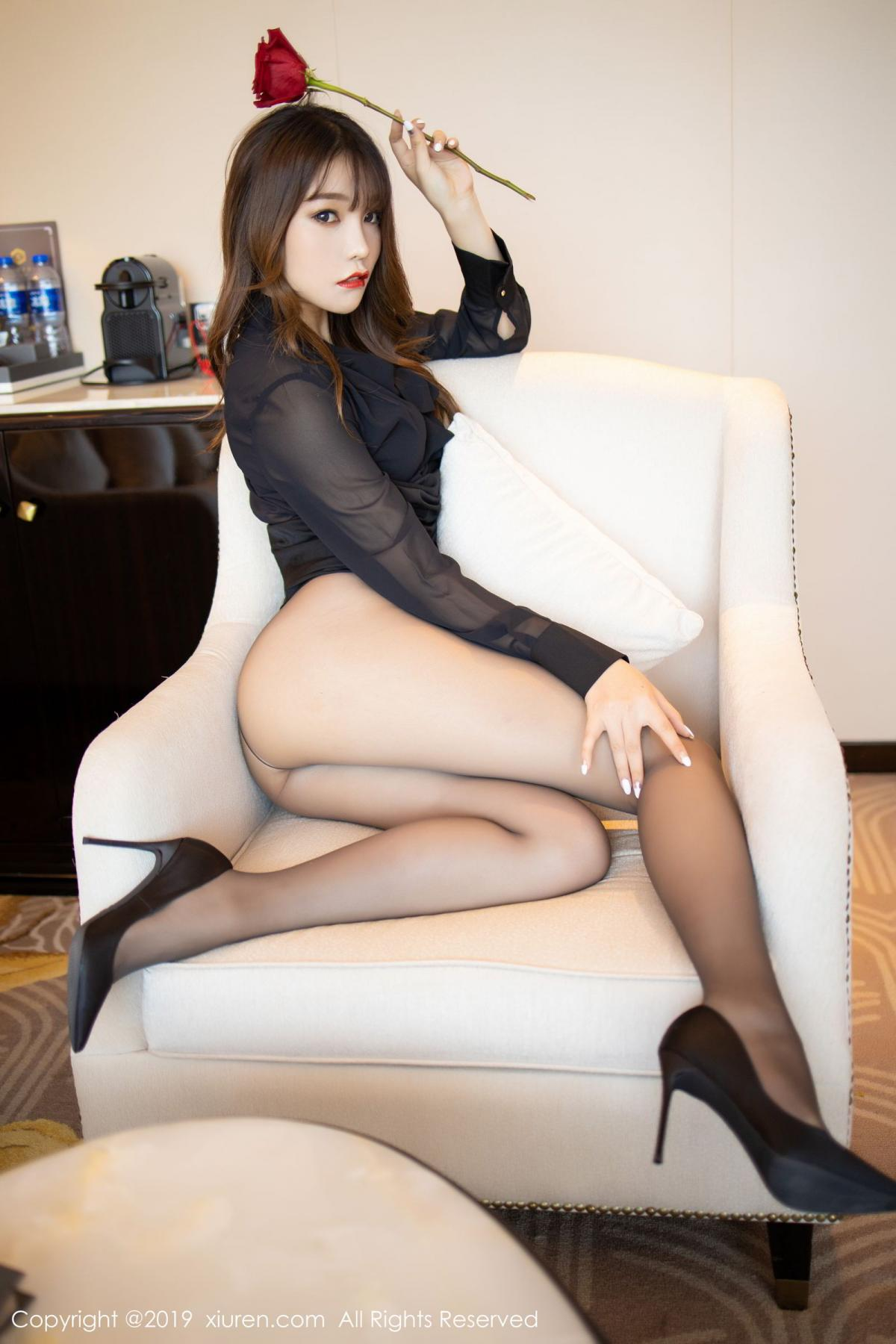 [XiuRen] Vol.1579 Chen Zhi 36P, Big Booty, Black Silk, Chen Zhi, Tall, Xiuren