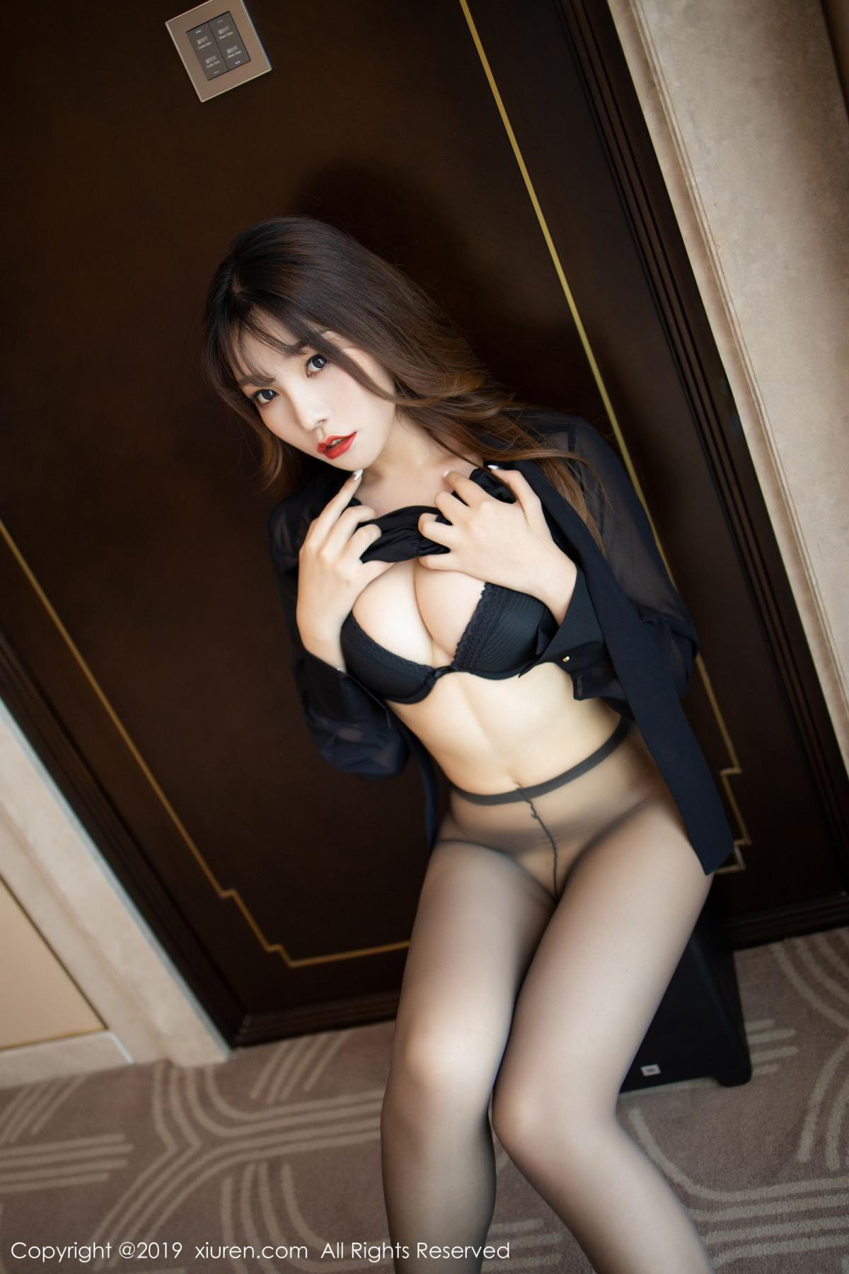 [XiuRen] Vol.1579 Chen Zhi 51P, Big Booty, Black Silk, Chen Zhi, Tall, Xiuren