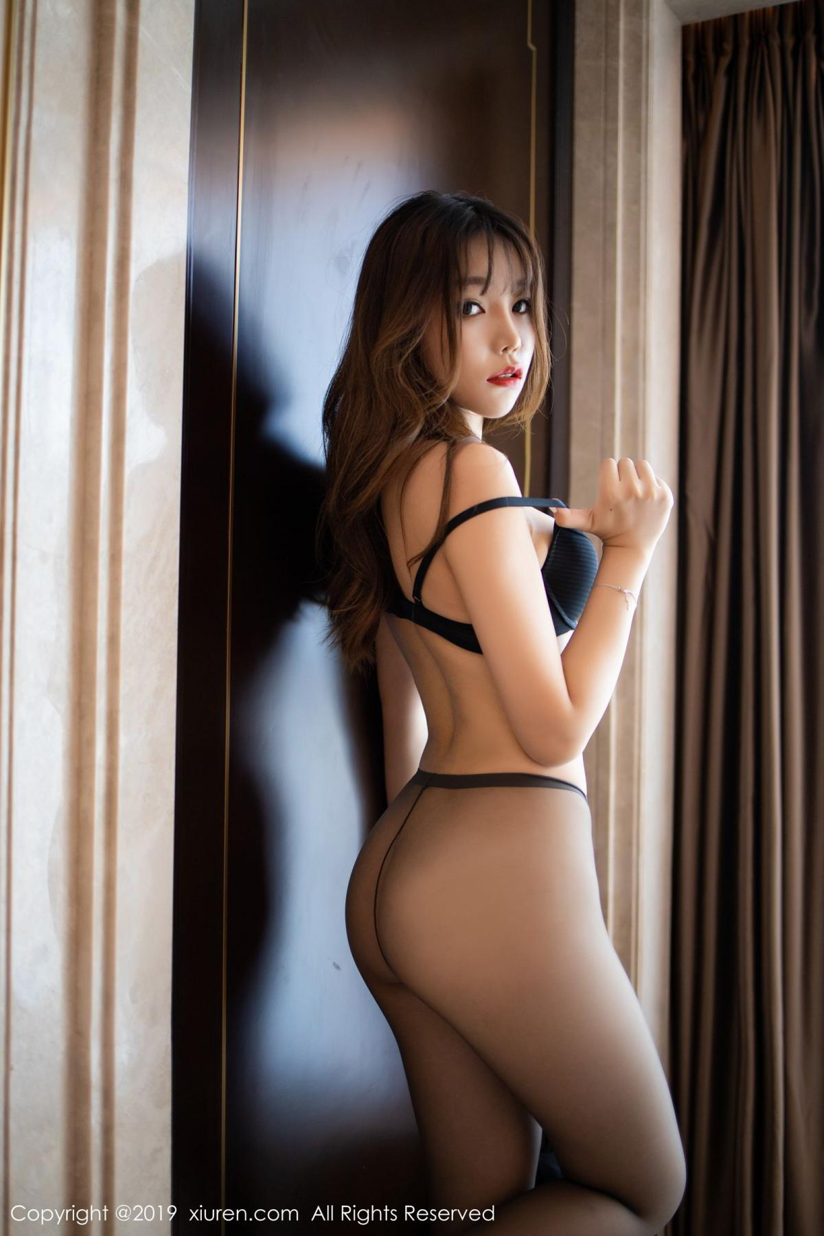 [XiuRen] Vol.1579 Chen Zhi 59P, Big Booty, Black Silk, Chen Zhi, Tall, Xiuren