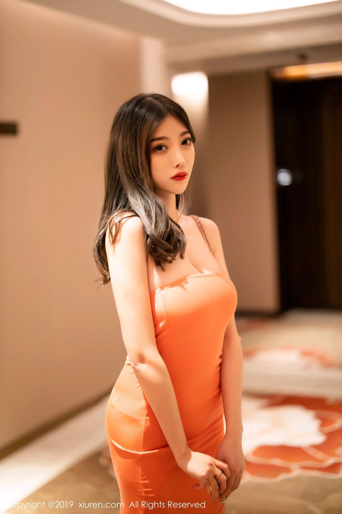 [XiuRen] Vol.1582 Yang Chen Chen 54P, Black Silk, Tall, Temperament, Xiuren, Yang Chen Chen