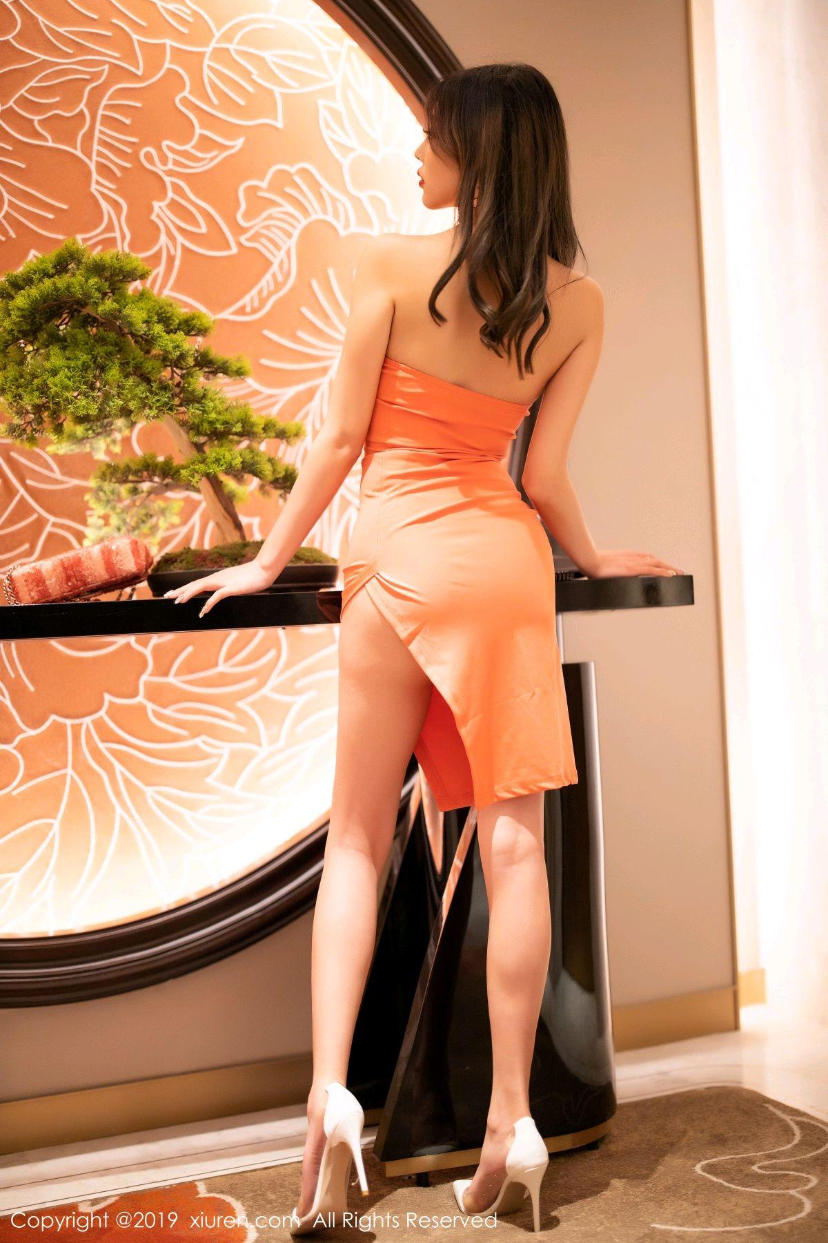 [XiuRen] Vol.1582 Yang Chen Chen 62P, Black Silk, Tall, Temperament, Xiuren, Yang Chen Chen