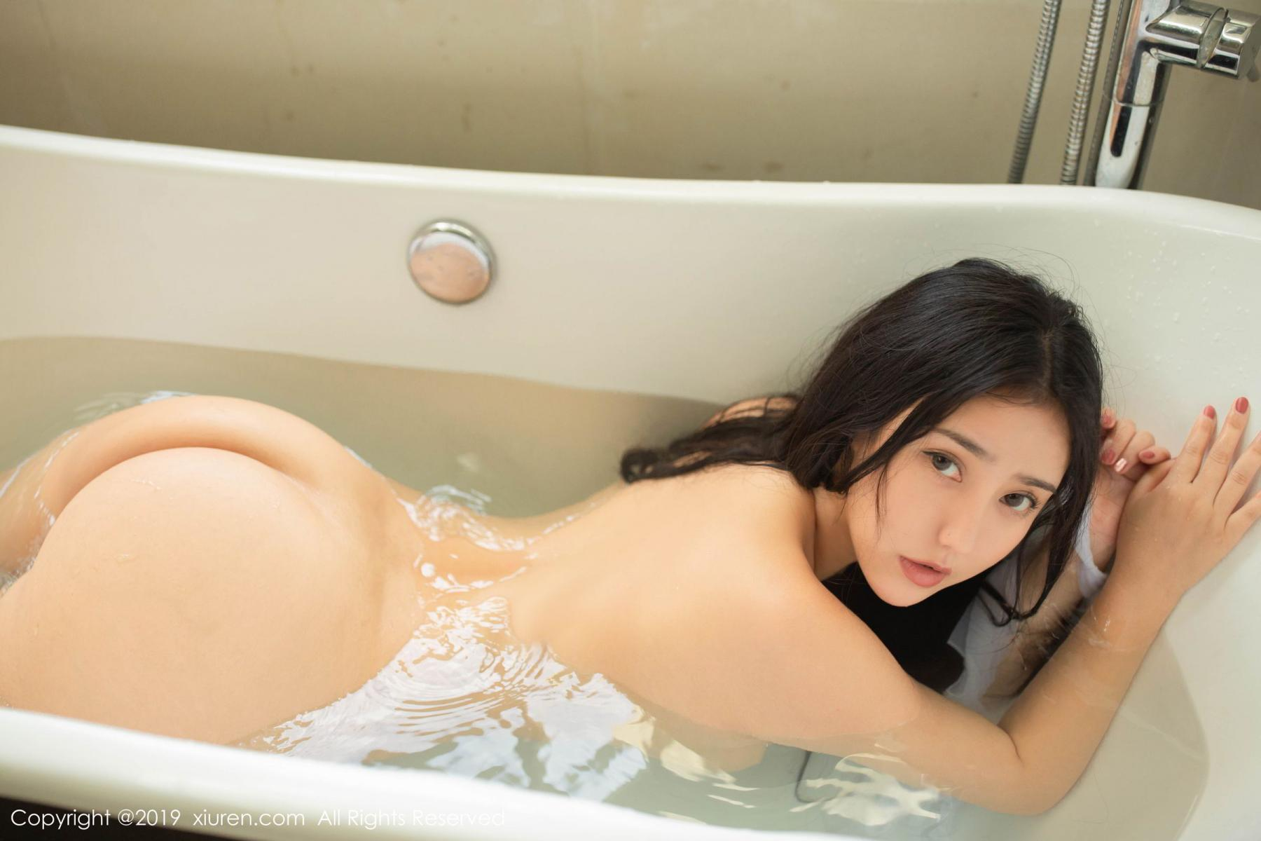 [XiuRen] Vol.1590 Ma Lu Na 13P, Adult, Bathroom, Ma Lu Na, Wet, Xiuren
