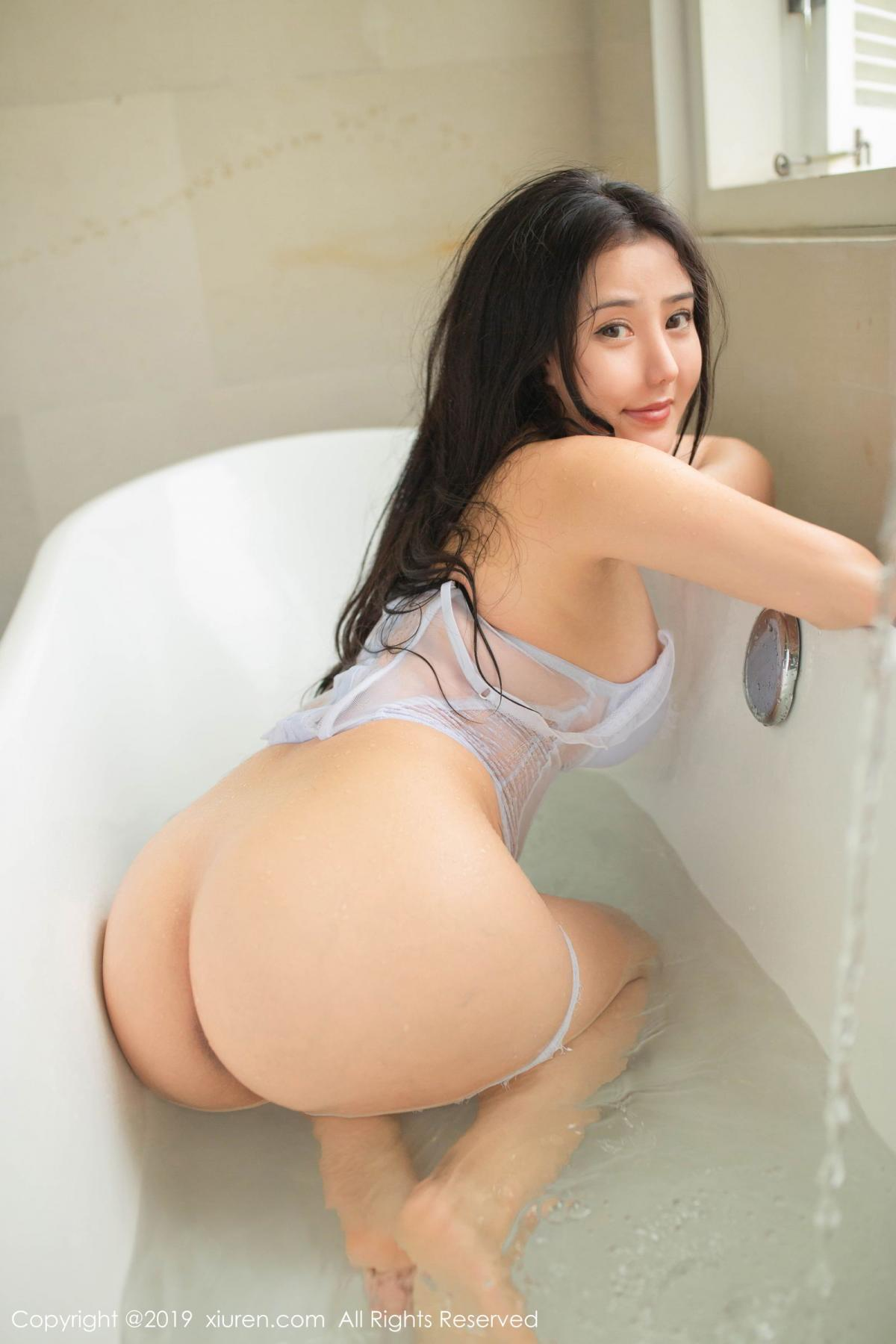 [XiuRen] Vol.1590 Ma Lu Na 14P, Adult, Bathroom, Ma Lu Na, Wet, Xiuren