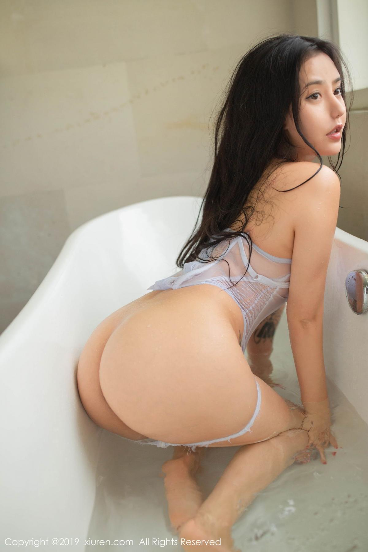 [XiuRen] Vol.1590 Ma Lu Na 15P, Adult, Bathroom, Ma Lu Na, Wet, Xiuren