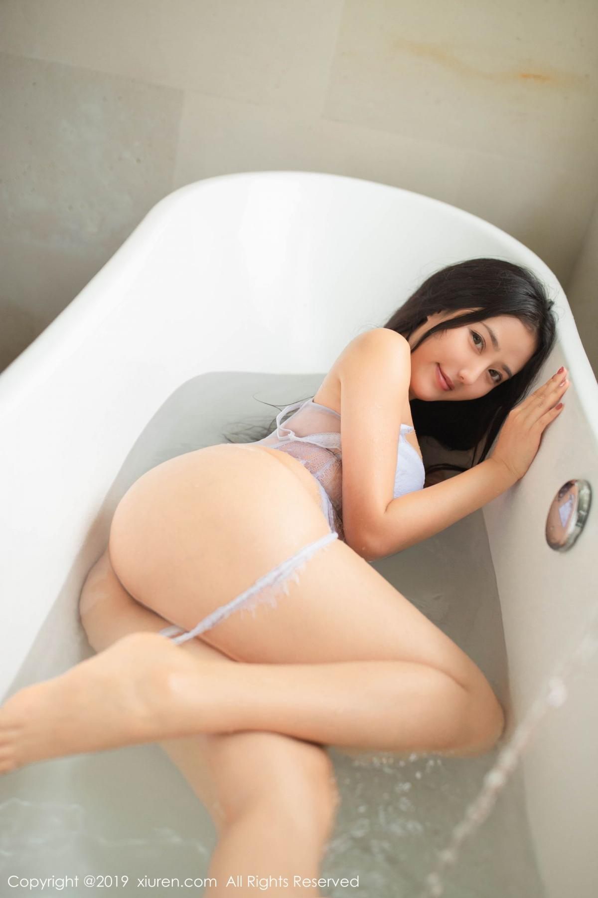 [XiuRen] Vol.1590 Ma Lu Na 16P, Adult, Bathroom, Ma Lu Na, Wet, Xiuren