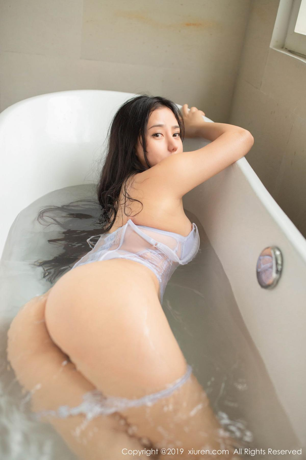 [XiuRen] Vol.1590 Ma Lu Na 20P, Adult, Bathroom, Ma Lu Na, Wet, Xiuren