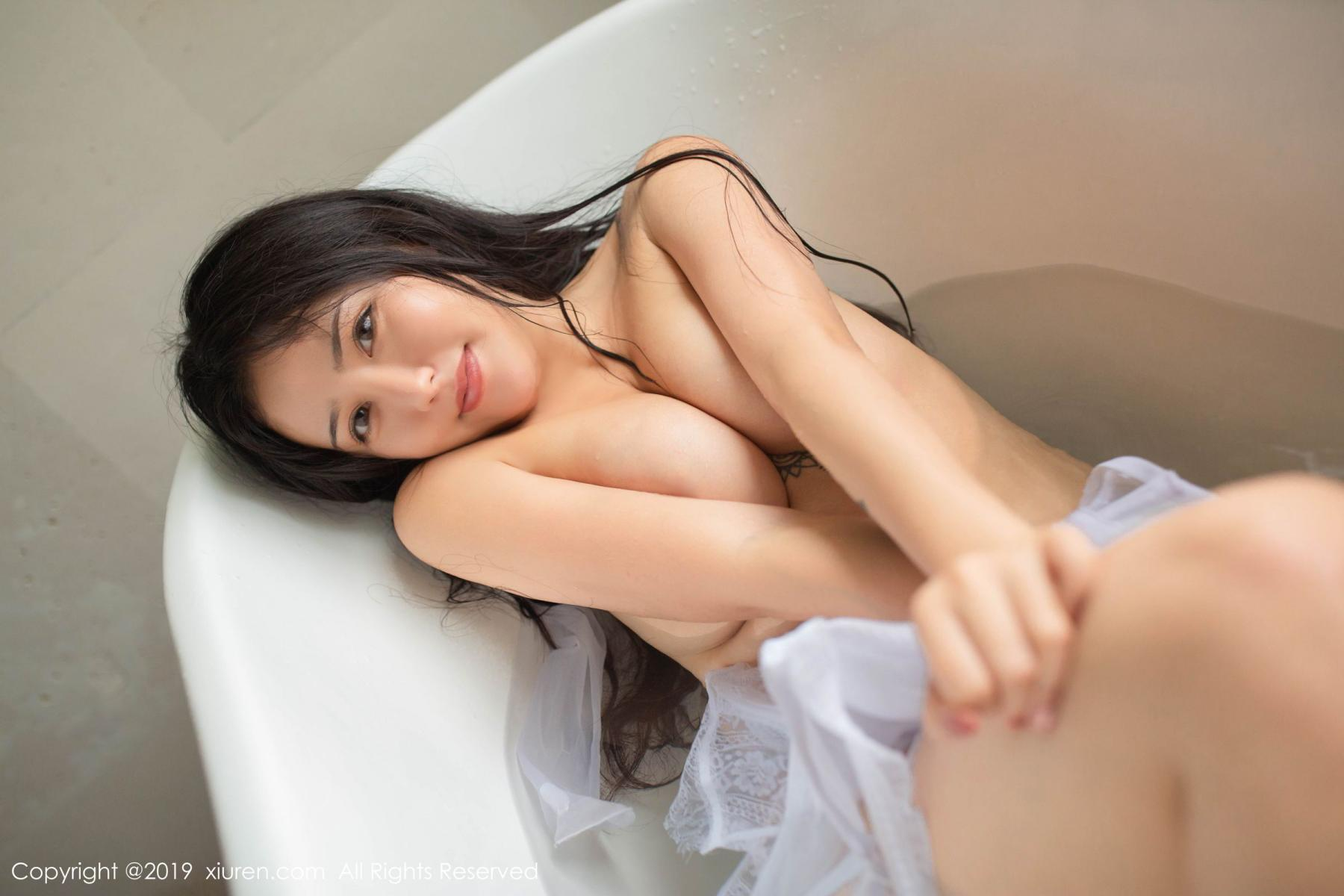 [XiuRen] Vol.1590 Ma Lu Na 26P, Adult, Bathroom, Ma Lu Na, Wet, Xiuren