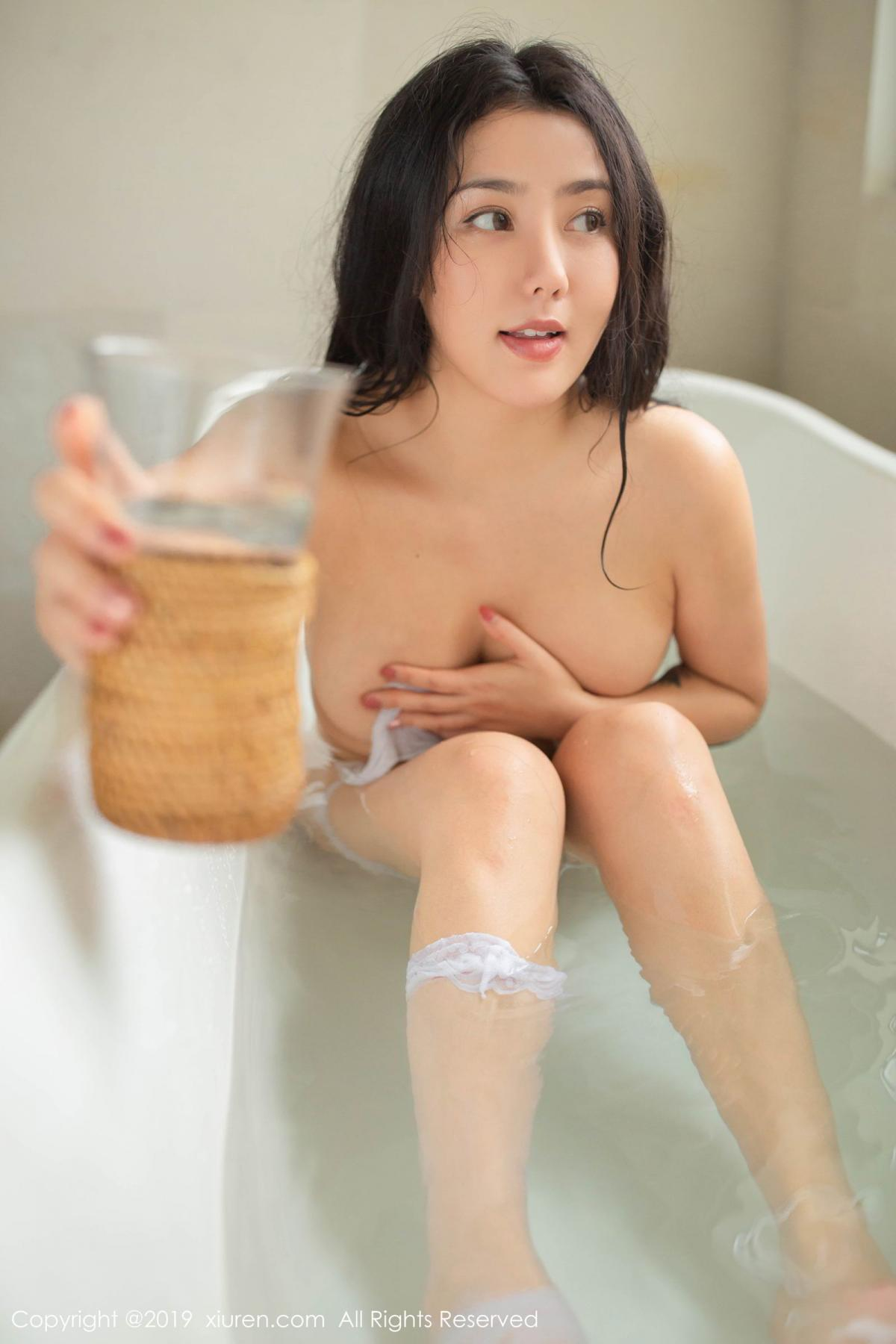 [XiuRen] Vol.1590 Ma Lu Na 28P, Adult, Bathroom, Ma Lu Na, Wet, Xiuren