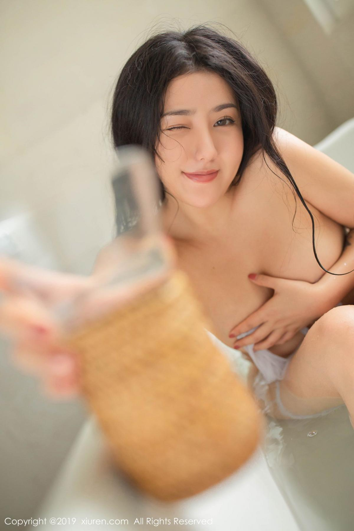 [XiuRen] Vol.1590 Ma Lu Na 29P, Adult, Bathroom, Ma Lu Na, Wet, Xiuren