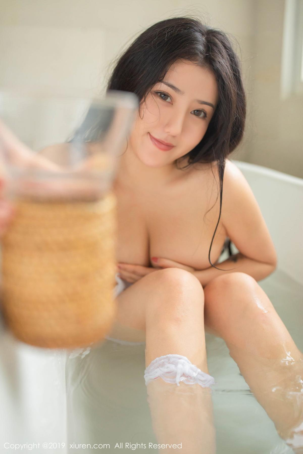[XiuRen] Vol.1590 Ma Lu Na 30P, Adult, Bathroom, Ma Lu Na, Wet, Xiuren