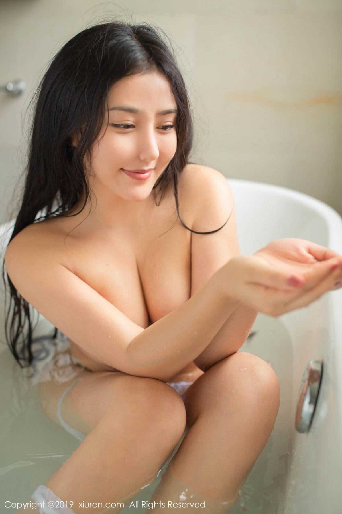 [XiuRen] Vol.1590 Ma Lu Na 33P, Adult, Bathroom, Ma Lu Na, Wet, Xiuren
