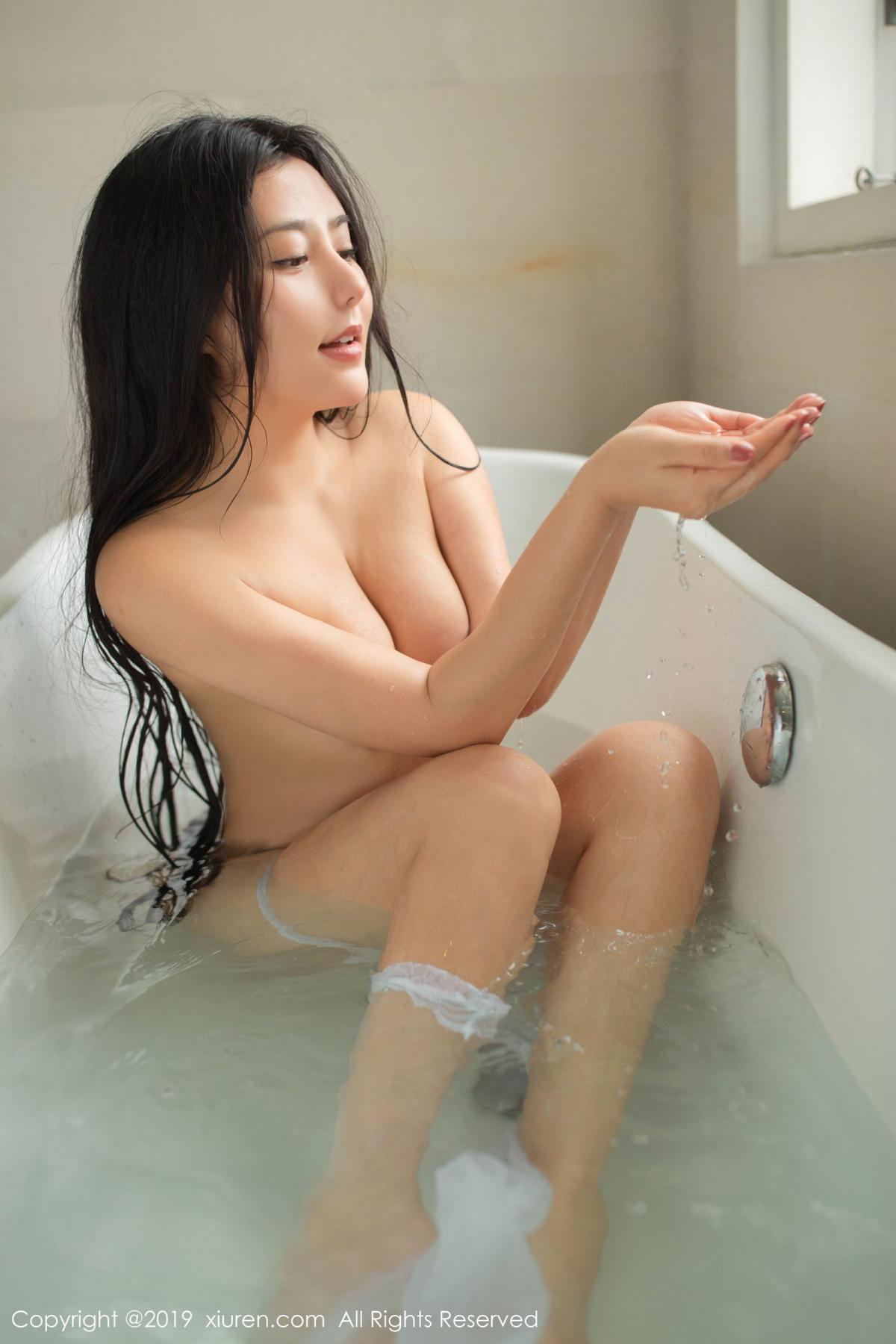 [XiuRen] Vol.1590 Ma Lu Na 34P, Adult, Bathroom, Ma Lu Na, Wet, Xiuren
