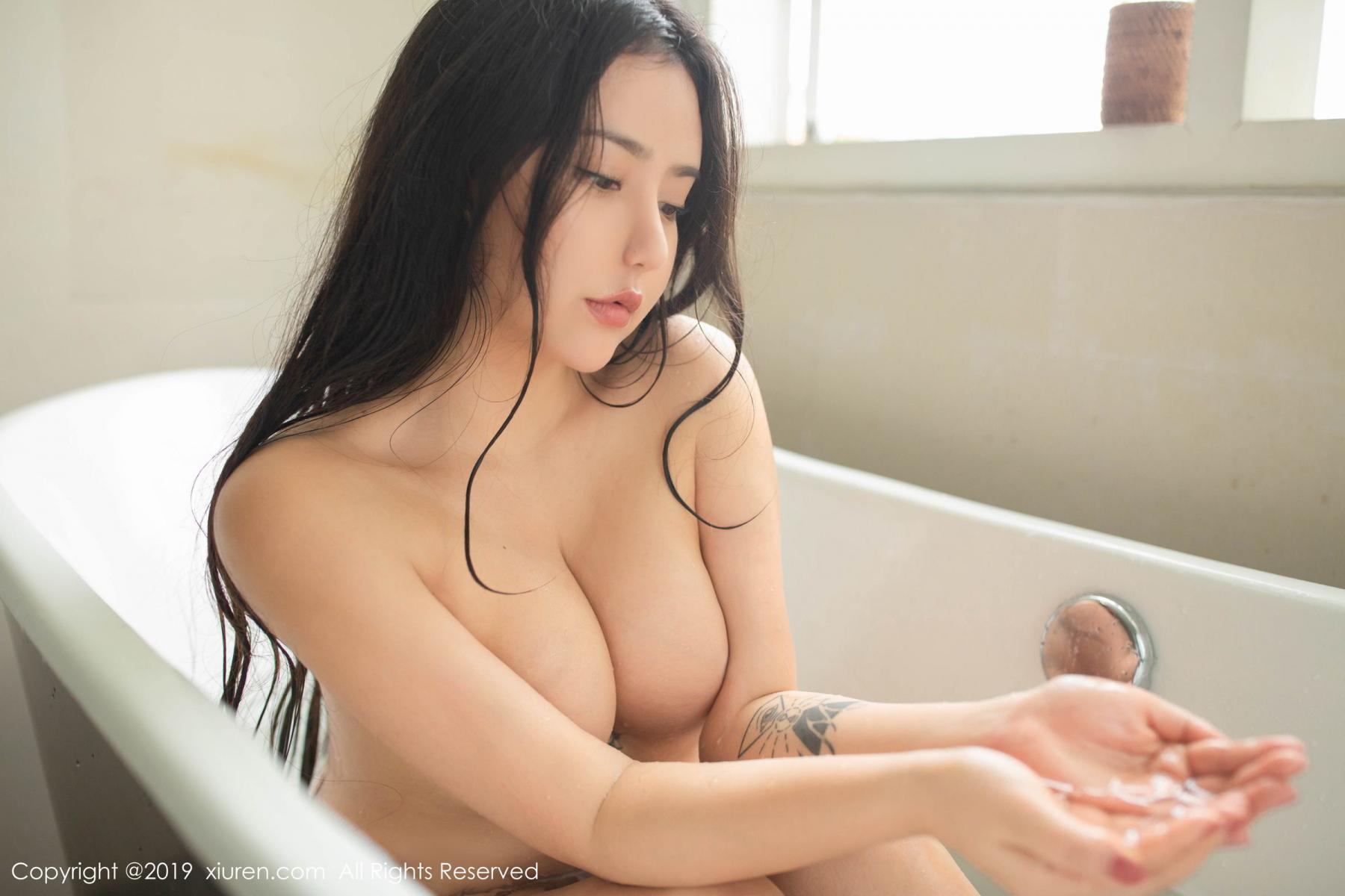 [XiuRen] Vol.1590 Ma Lu Na 36P, Adult, Bathroom, Ma Lu Na, Wet, Xiuren