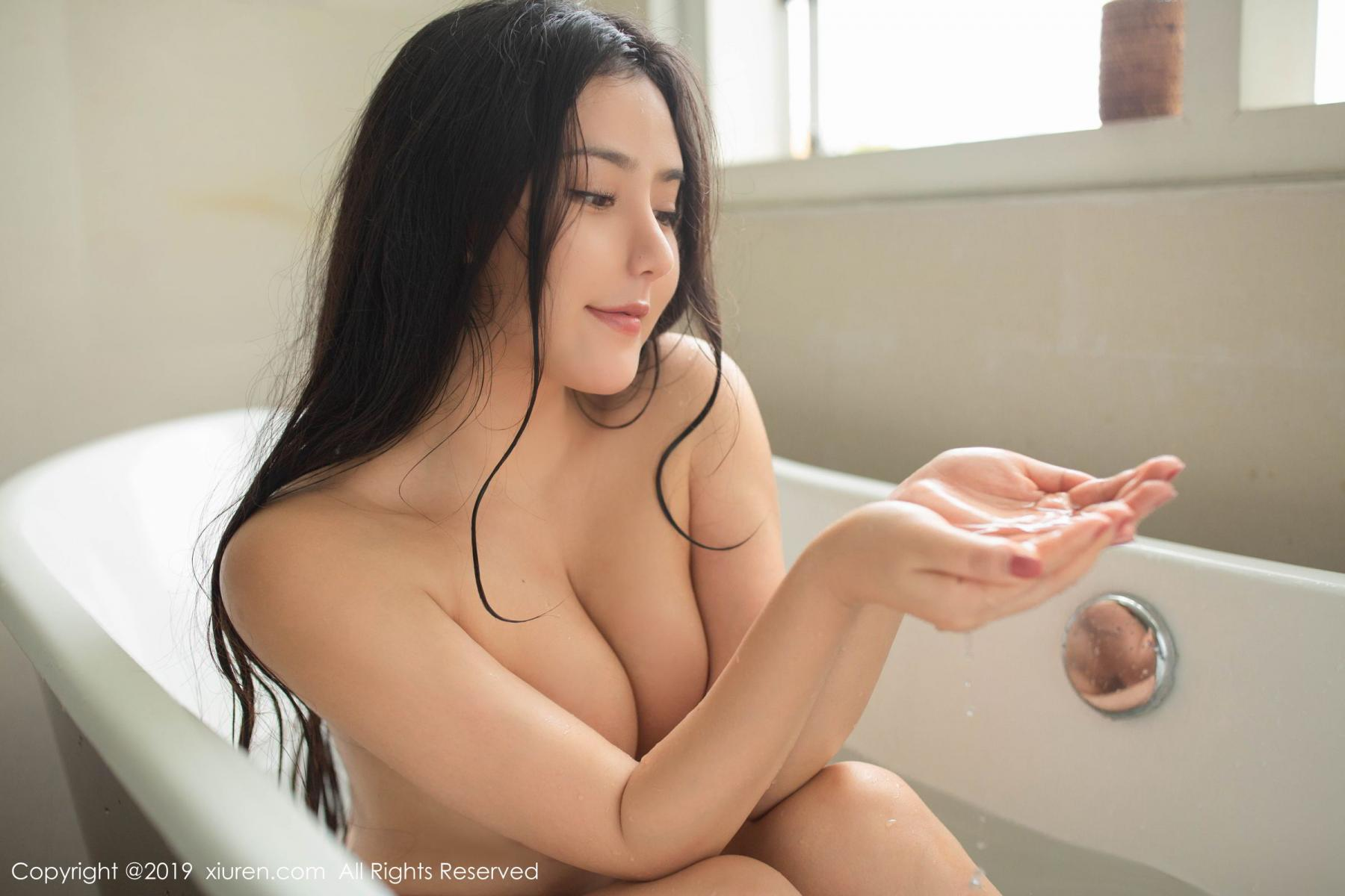 [XiuRen] Vol.1590 Ma Lu Na 37P, Adult, Bathroom, Ma Lu Na, Wet, Xiuren