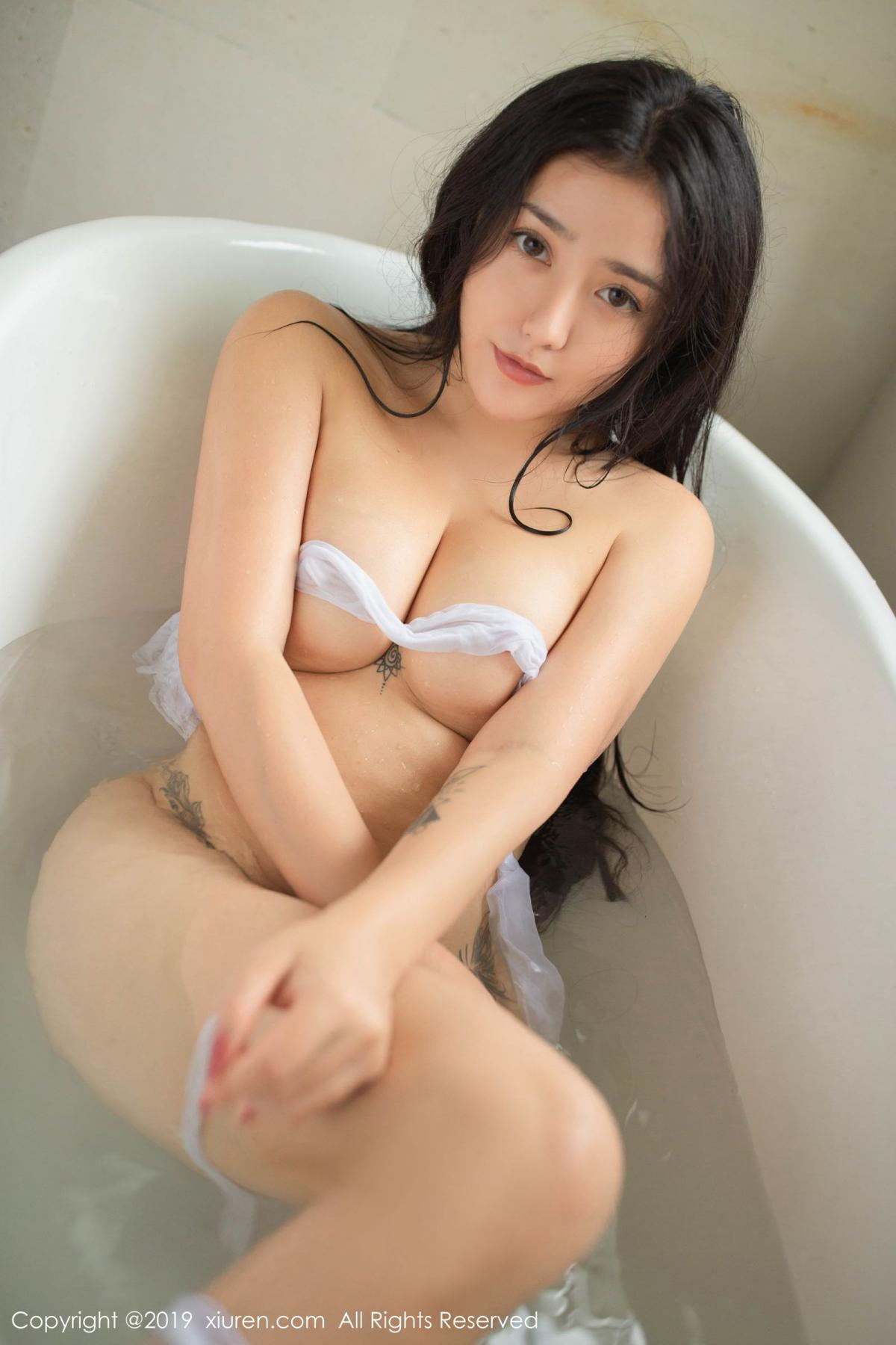 [XiuRen] Vol.1590 Ma Lu Na 46P, Adult, Bathroom, Ma Lu Na, Wet, Xiuren