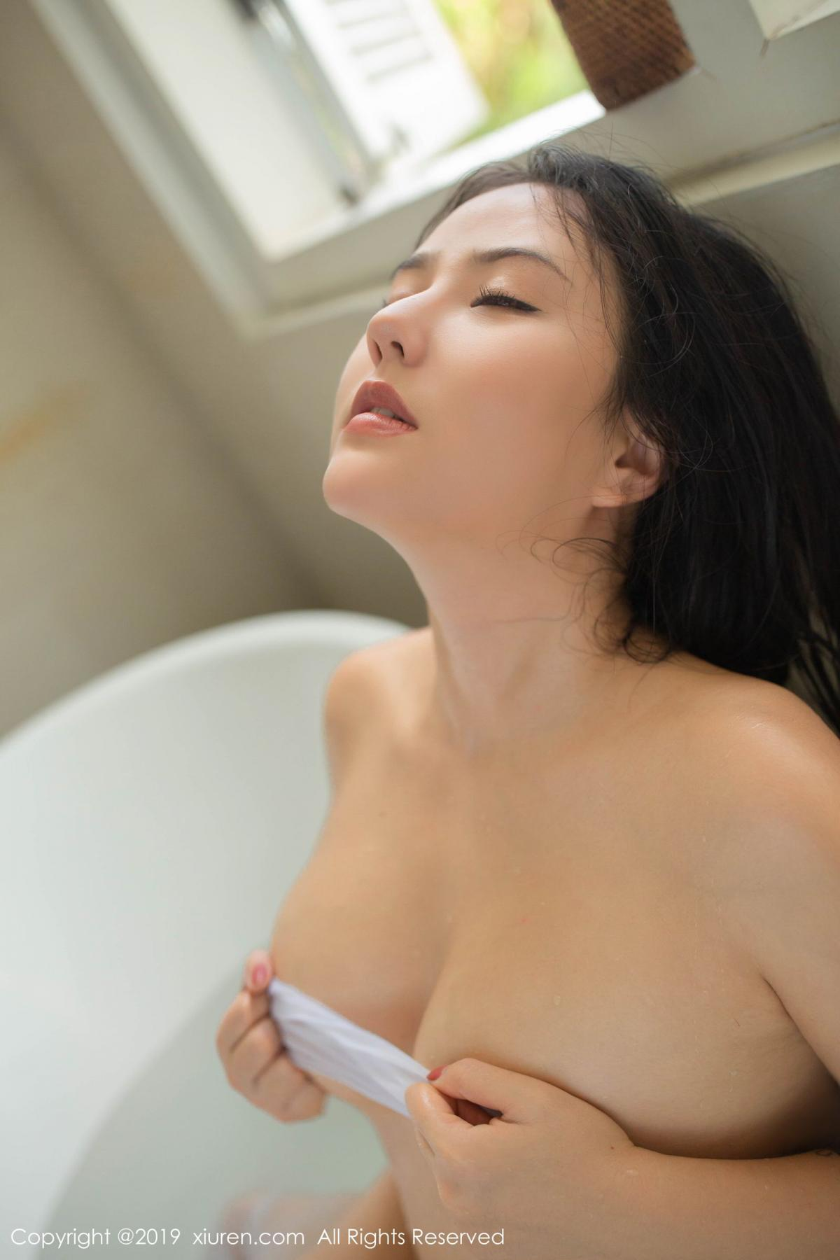 [XiuRen] Vol.1590 Ma Lu Na 55P, Adult, Bathroom, Ma Lu Na, Wet, Xiuren