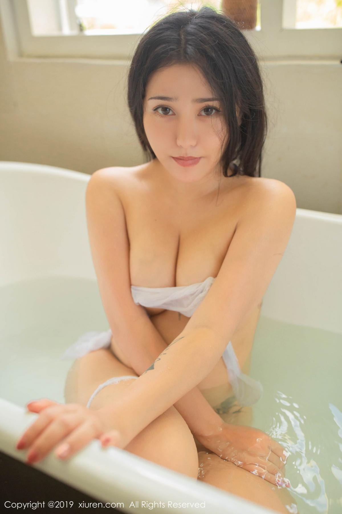 [XiuRen] Vol.1590 Ma Lu Na 56P, Adult, Bathroom, Ma Lu Na, Wet, Xiuren