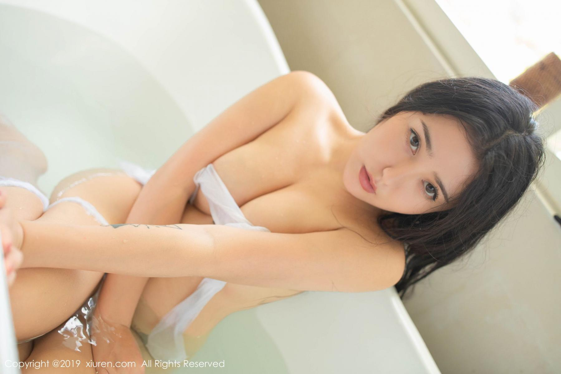 [XiuRen] Vol.1590 Ma Lu Na 58P, Adult, Bathroom, Ma Lu Na, Wet, Xiuren