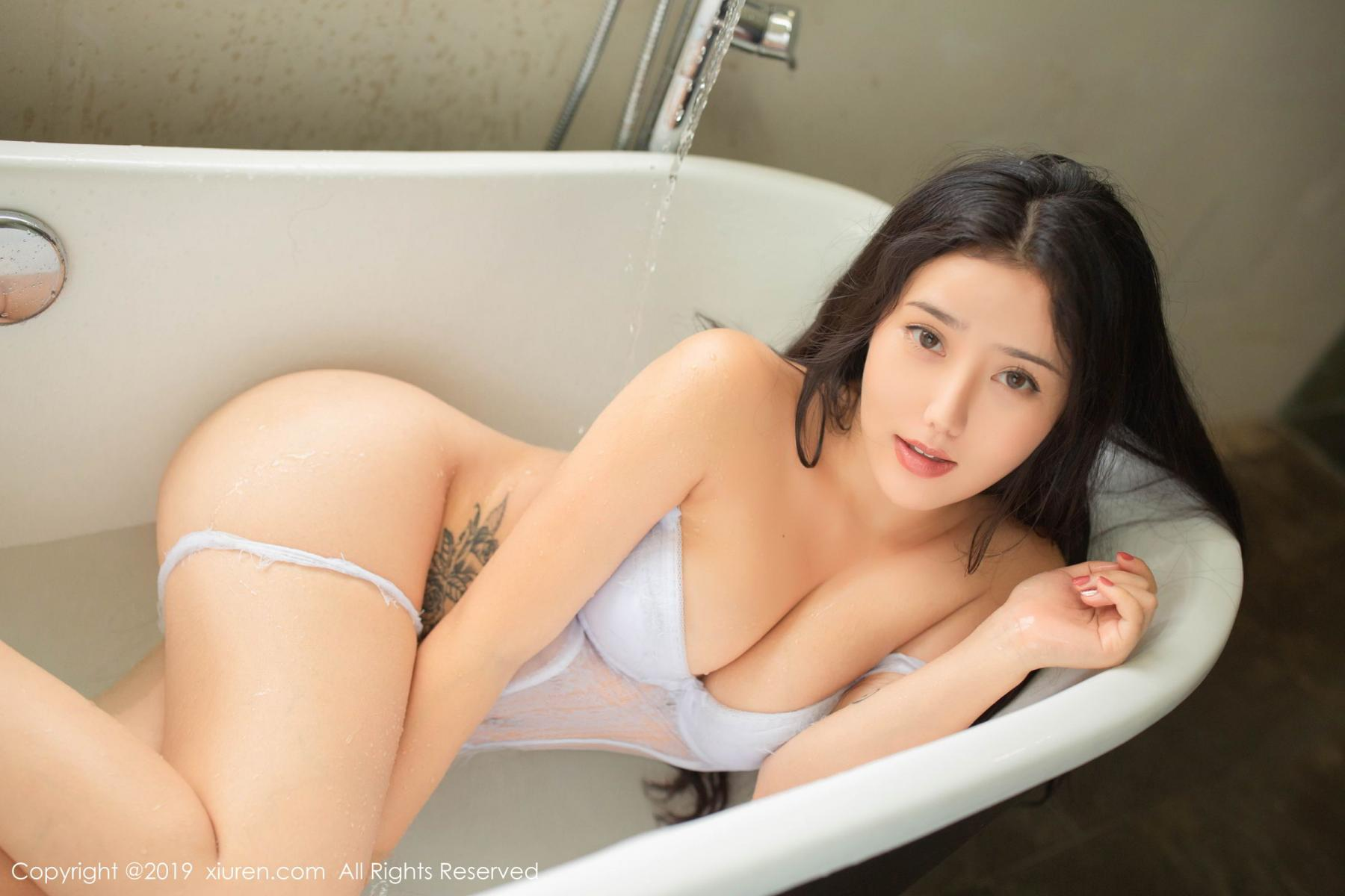 [XiuRen] Vol.1590 Ma Lu Na 9P, Adult, Bathroom, Ma Lu Na, Wet, Xiuren