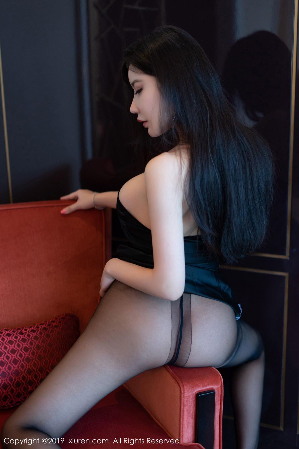 [XiuRen] Vol.1596 Li Yan Xi 40P, Black Silk, Li Yan Xi, Xiuren