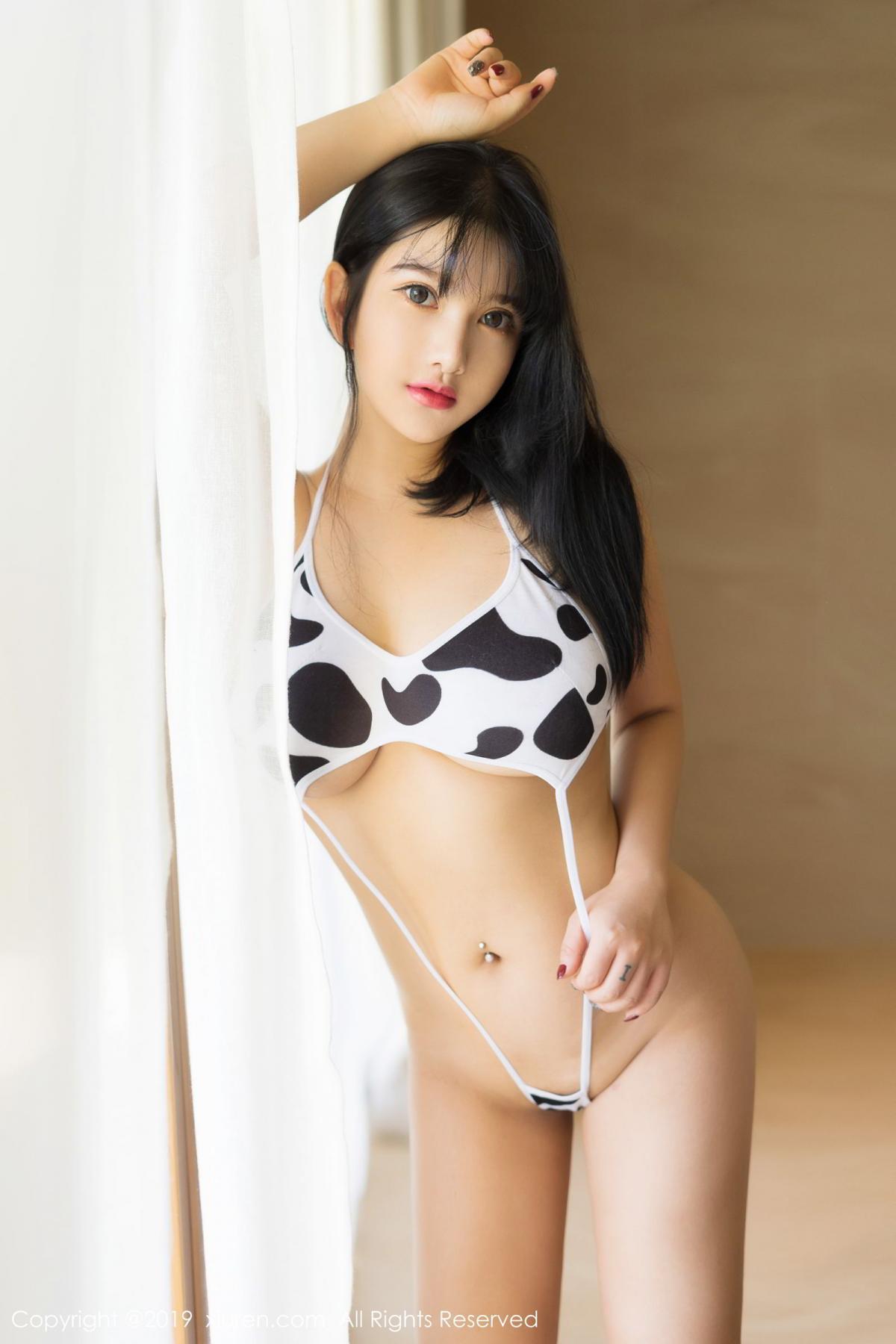 [XiuRen] Vol.1603 Lu Lu Xiao Miao 16P, Lu Lu Xiao Miao, Underwear, Xiuren
