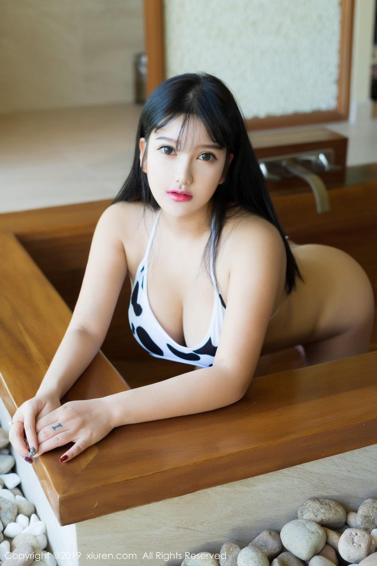 [XiuRen] Vol.1603 Lu Lu Xiao Miao 3P, Lu Lu Xiao Miao, Underwear, Xiuren