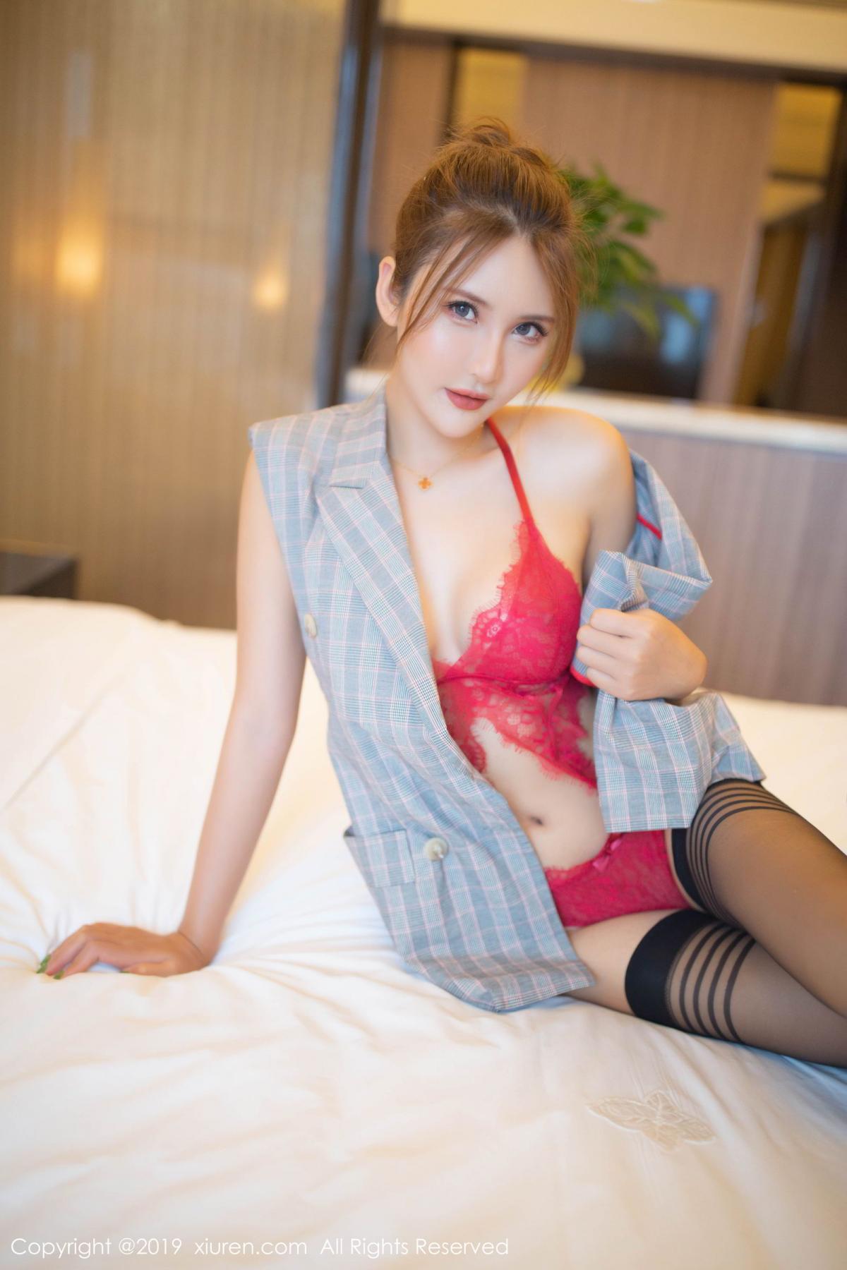 [XiuRen] Vol.1605 Solo Yi Fei 12P, Black Silk, Solo Yi Fei, Underwear, Xiuren