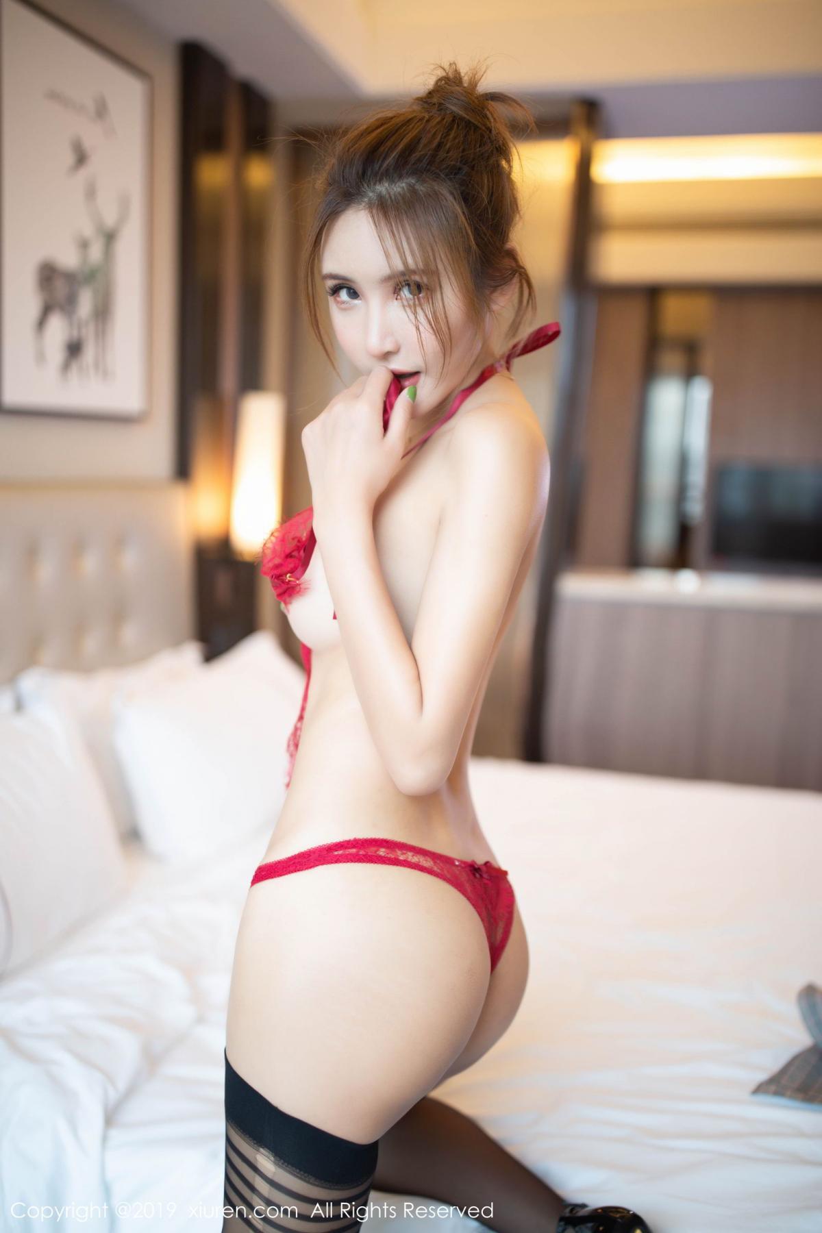 [XiuRen] Vol.1605 Solo Yi Fei 2P, Black Silk, Solo Yi Fei, Underwear, Xiuren