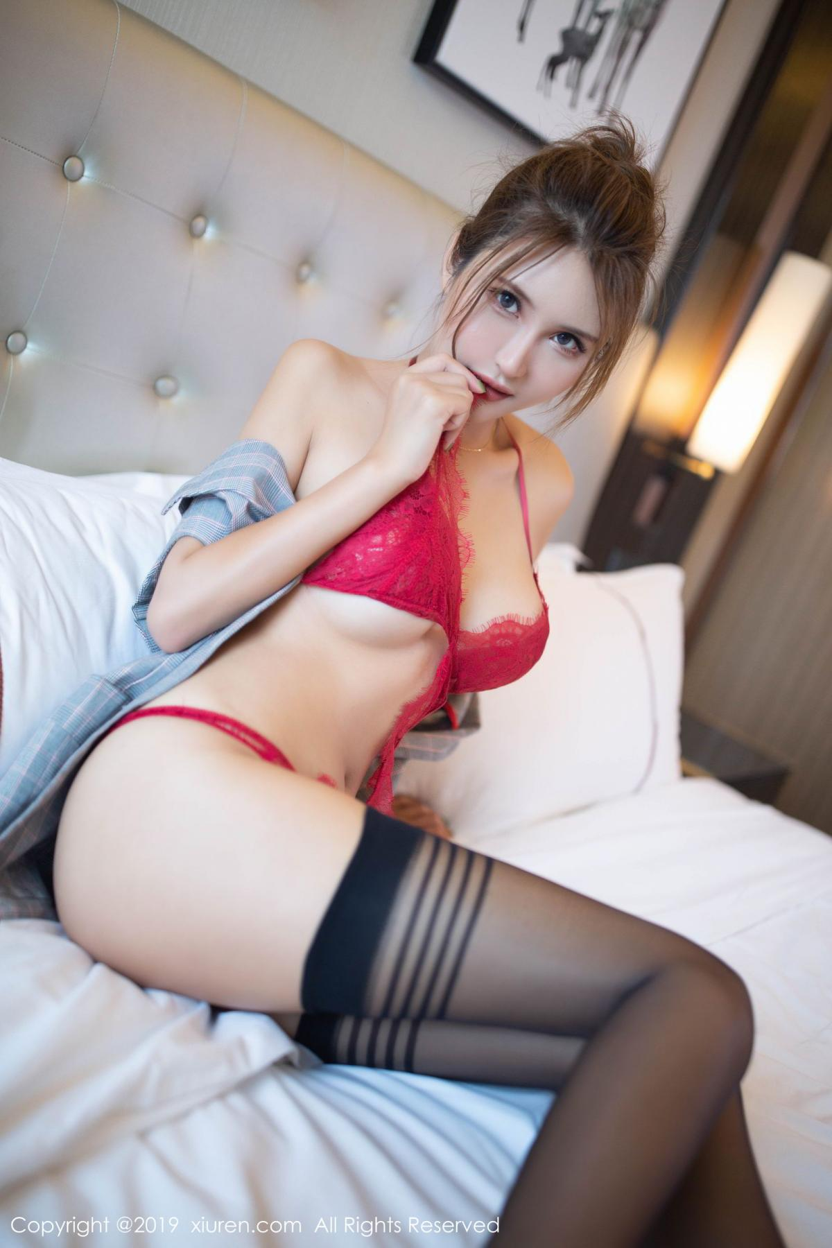 [XiuRen] Vol.1605 Solo Yi Fei 31P, Black Silk, Solo Yi Fei, Underwear, Xiuren