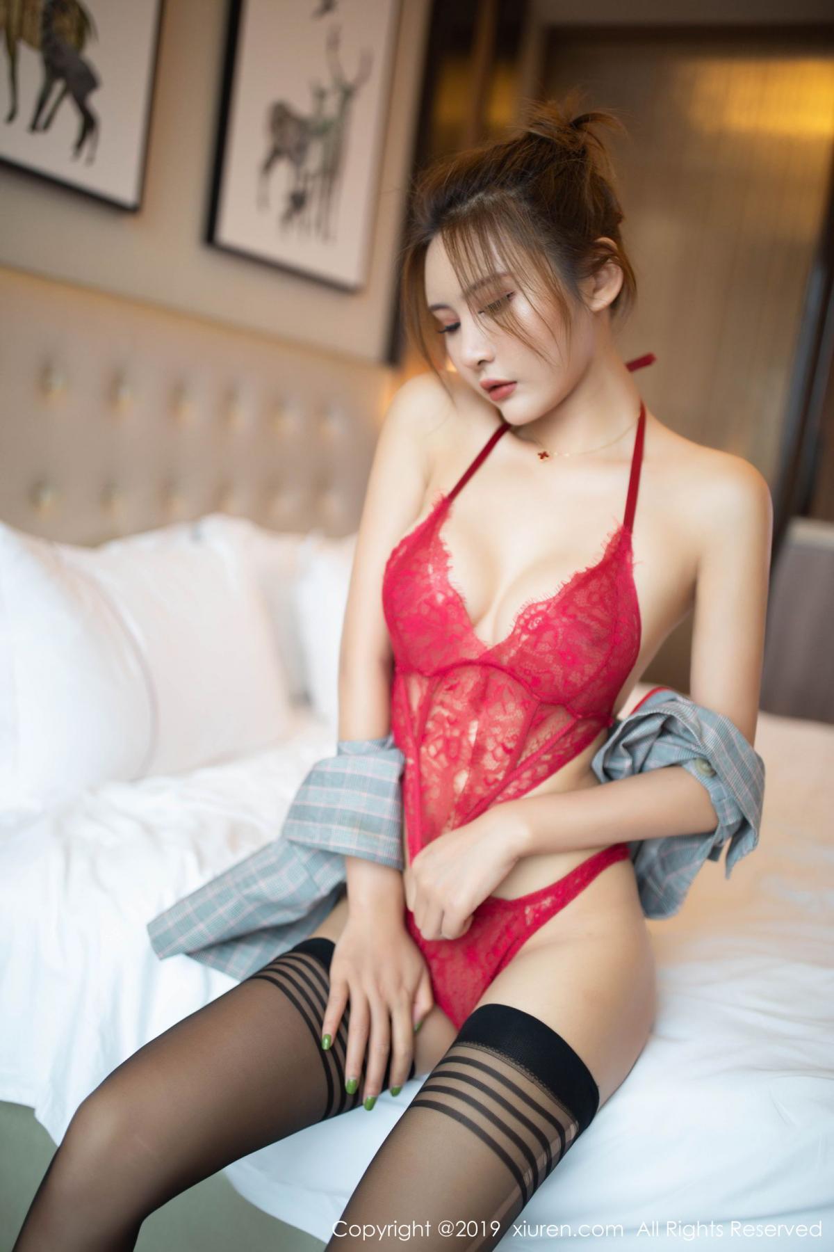 [XiuRen] Vol.1605 Solo Yi Fei 35P, Black Silk, Solo Yi Fei, Underwear, Xiuren