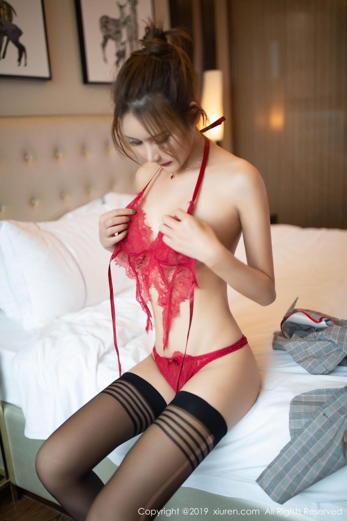 [XiuRen] Vol.1605 Solo Yi Fei 36P, Black Silk, Solo Yi Fei, Underwear, Xiuren