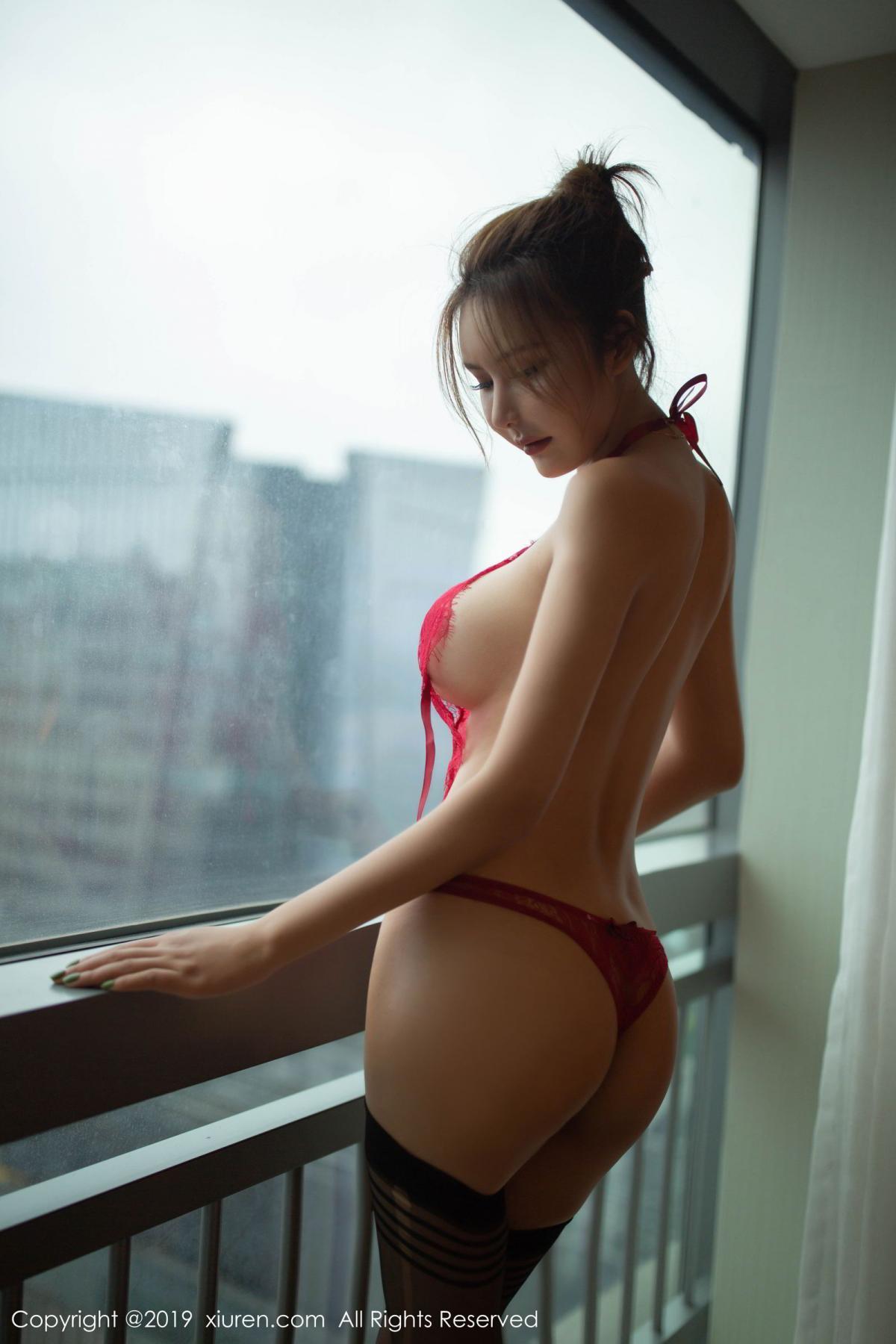 [XiuRen] Vol.1605 Solo Yi Fei 40P, Black Silk, Solo Yi Fei, Underwear, Xiuren