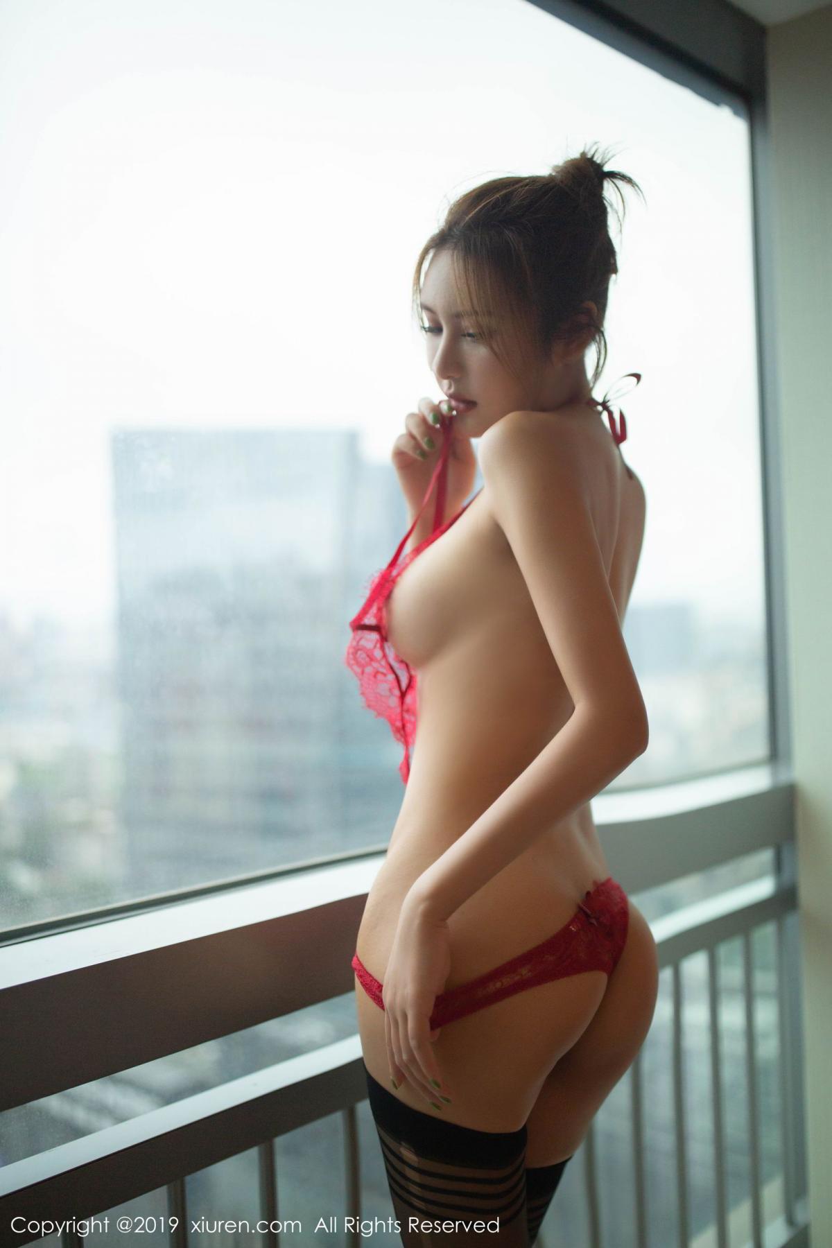 [XiuRen] Vol.1605 Solo Yi Fei 42P, Black Silk, Solo Yi Fei, Underwear, Xiuren