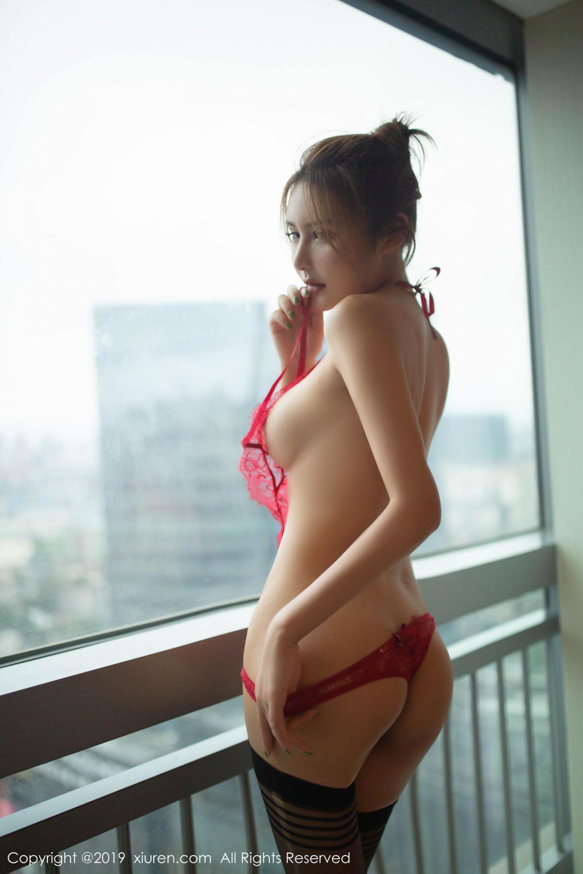 [XiuRen] Vol.1605 Solo Yi Fei 43P, Black Silk, Solo Yi Fei, Underwear, Xiuren