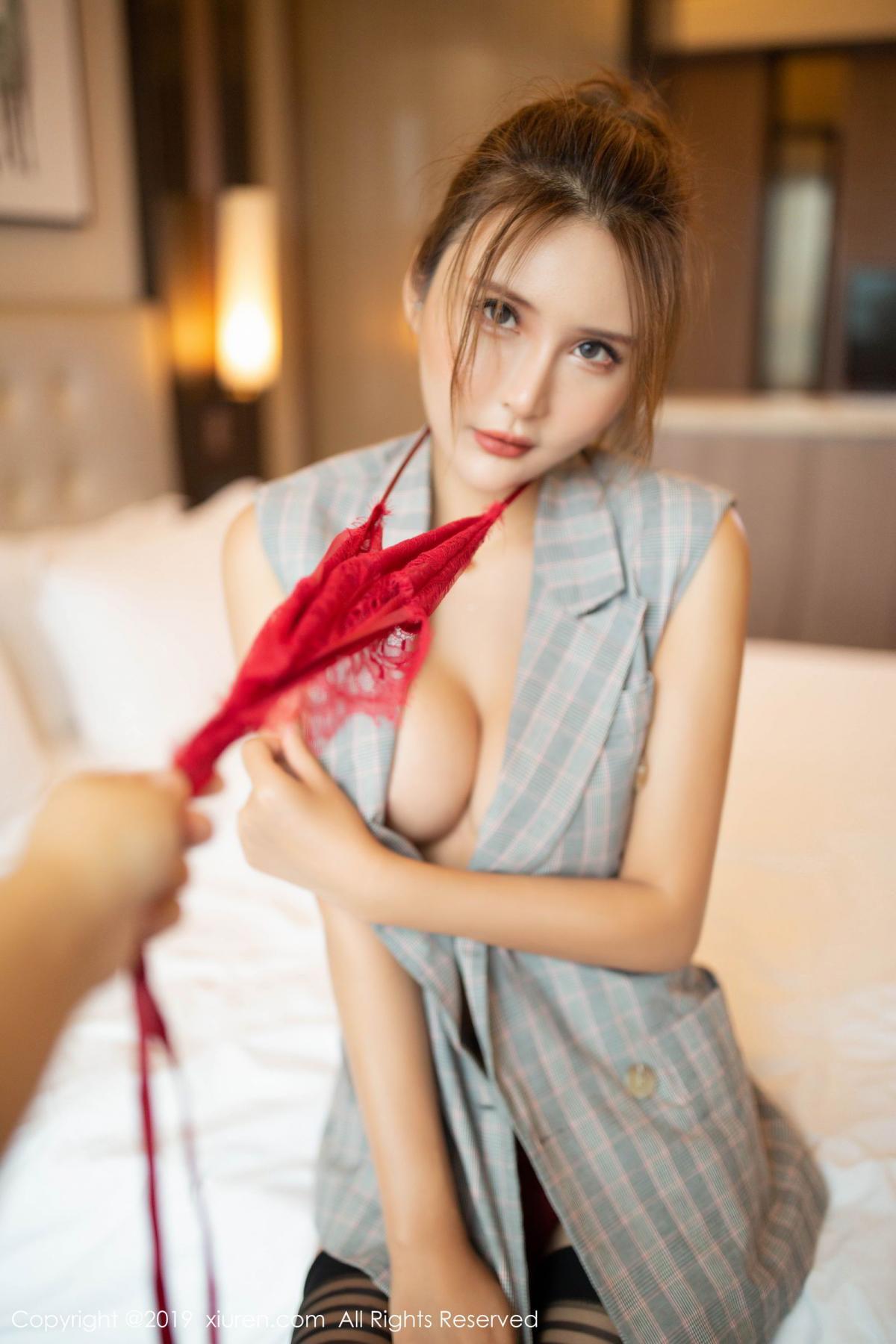 [XiuRen] Vol.1605 Solo Yi Fei 48P, Black Silk, Solo Yi Fei, Underwear, Xiuren