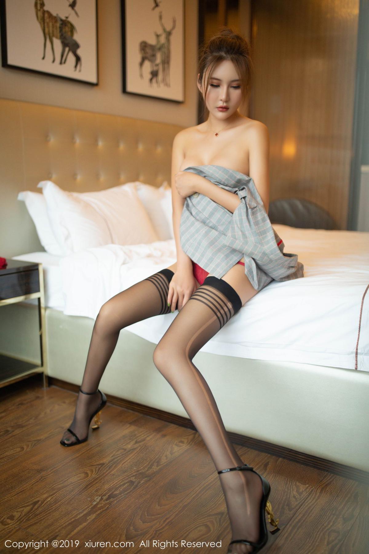 [XiuRen] Vol.1605 Solo Yi Fei 61P, Black Silk, Solo Yi Fei, Underwear, Xiuren