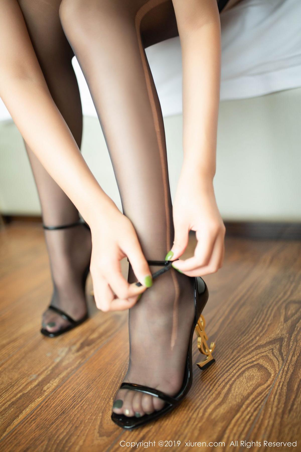 [XiuRen] Vol.1605 Solo Yi Fei 63P, Black Silk, Solo Yi Fei, Underwear, Xiuren