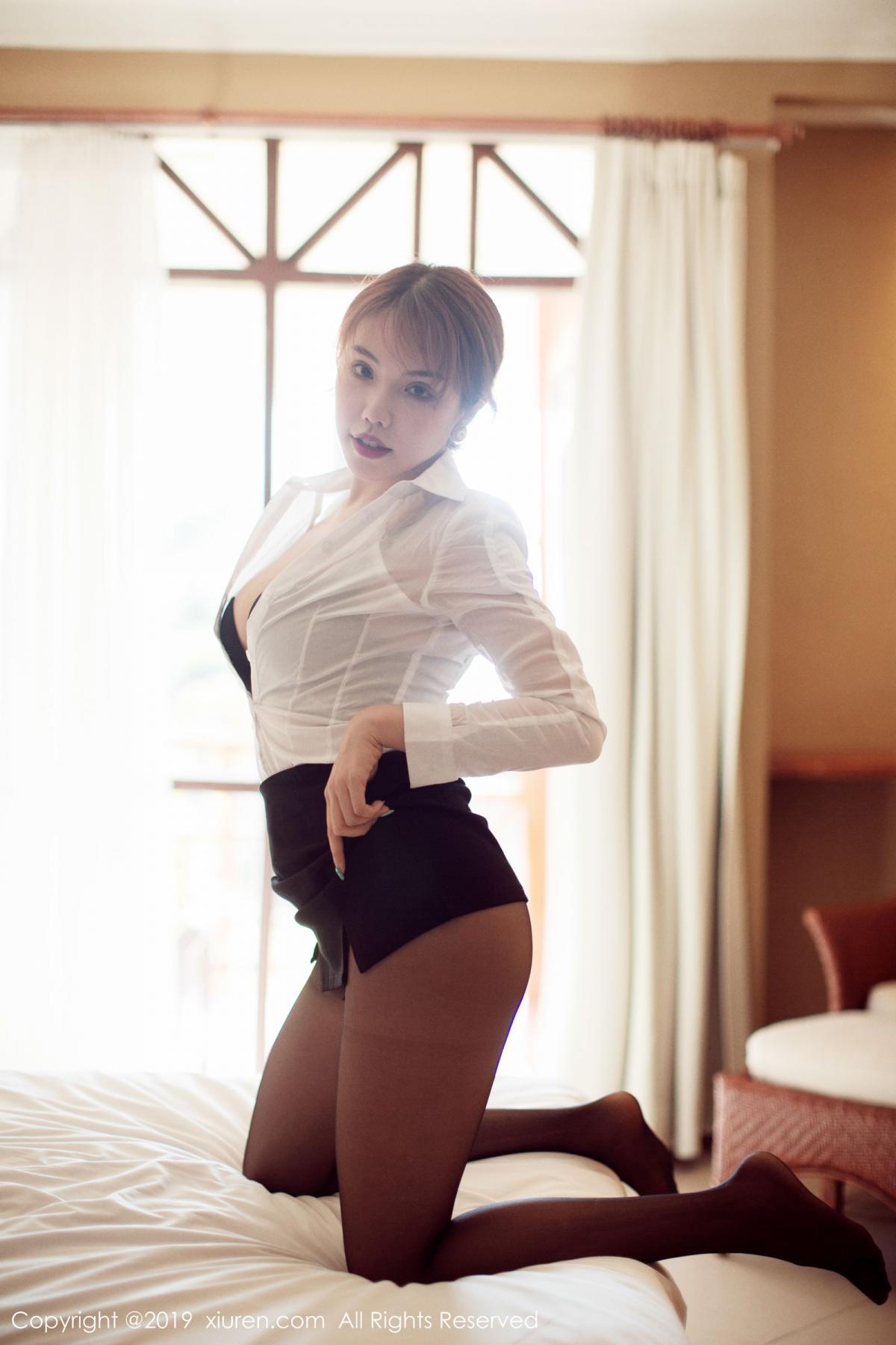[XiuRen] Vol.1606 Huang Le Ran 26P, Black Silk, Huang Le Ran, Tall, Xiuren