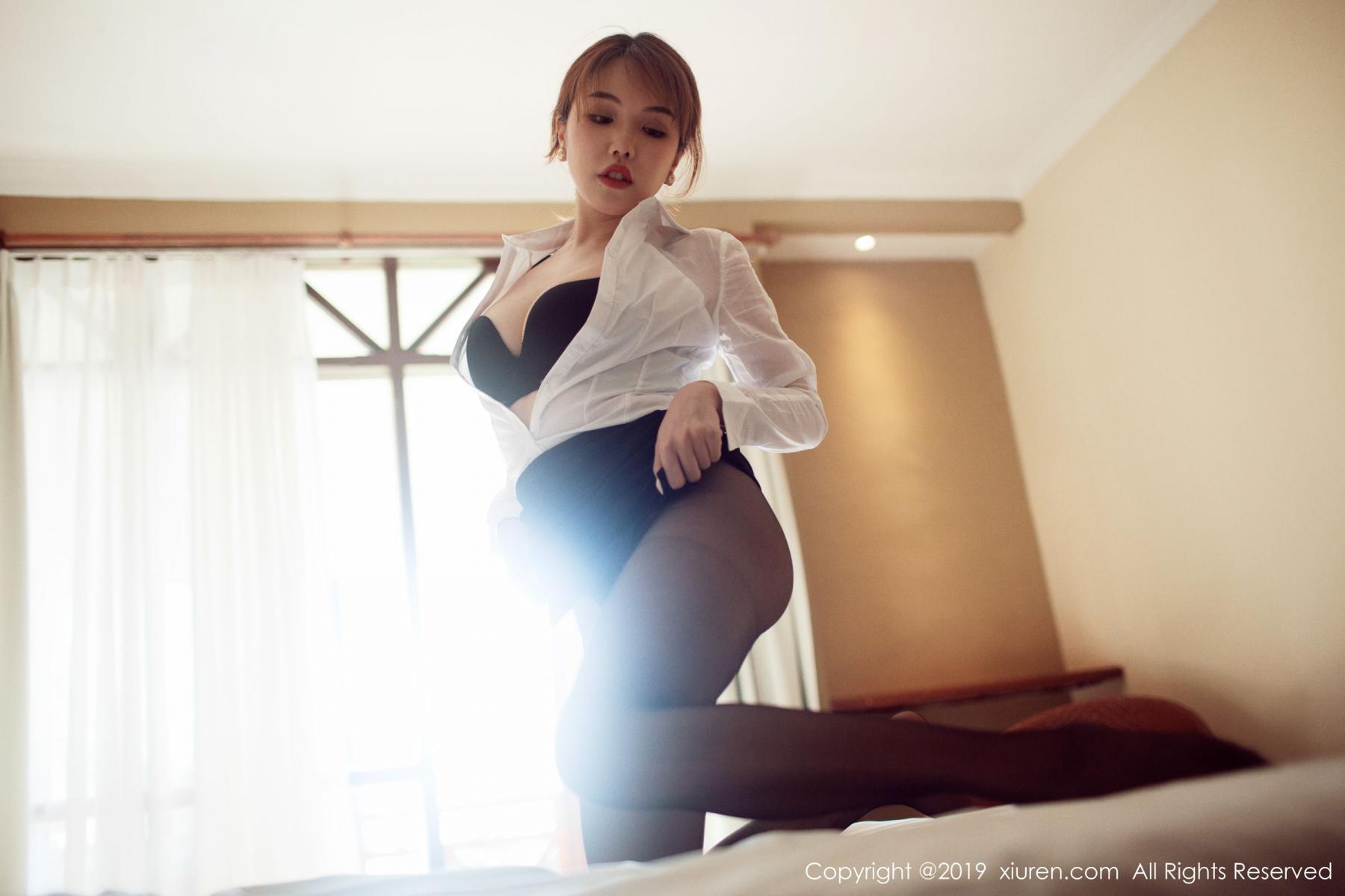 [XiuRen] Vol.1606 Huang Le Ran 28P, Black Silk, Huang Le Ran, Tall, Xiuren