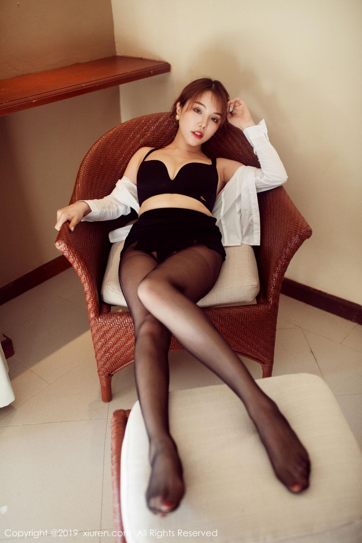 [XiuRen] Vol.1606 Huang Le Ran 31P, Black Silk, Huang Le Ran, Tall, Xiuren