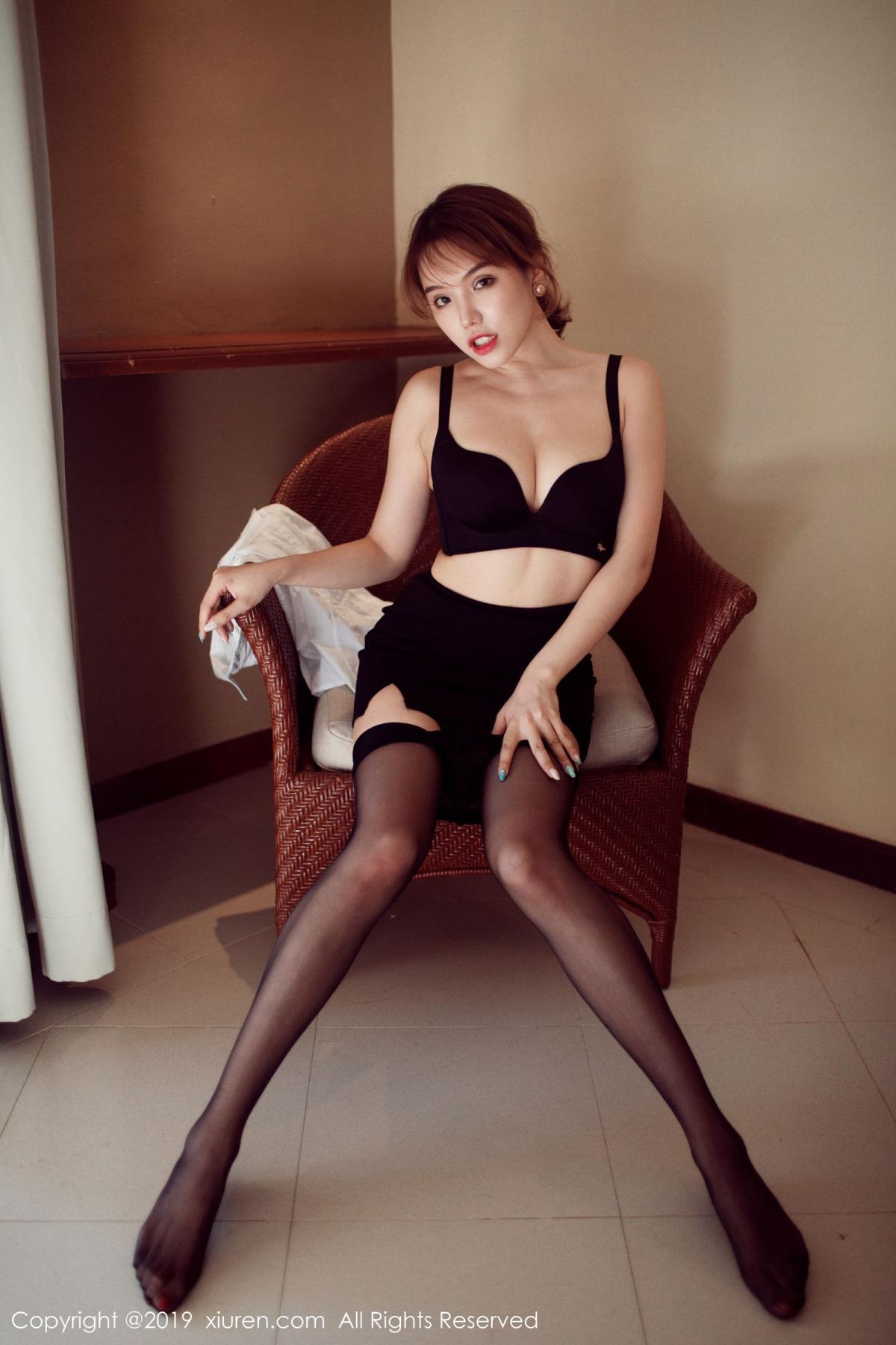 [XiuRen] Vol.1606 Huang Le Ran 39P, Black Silk, Huang Le Ran, Tall, Xiuren