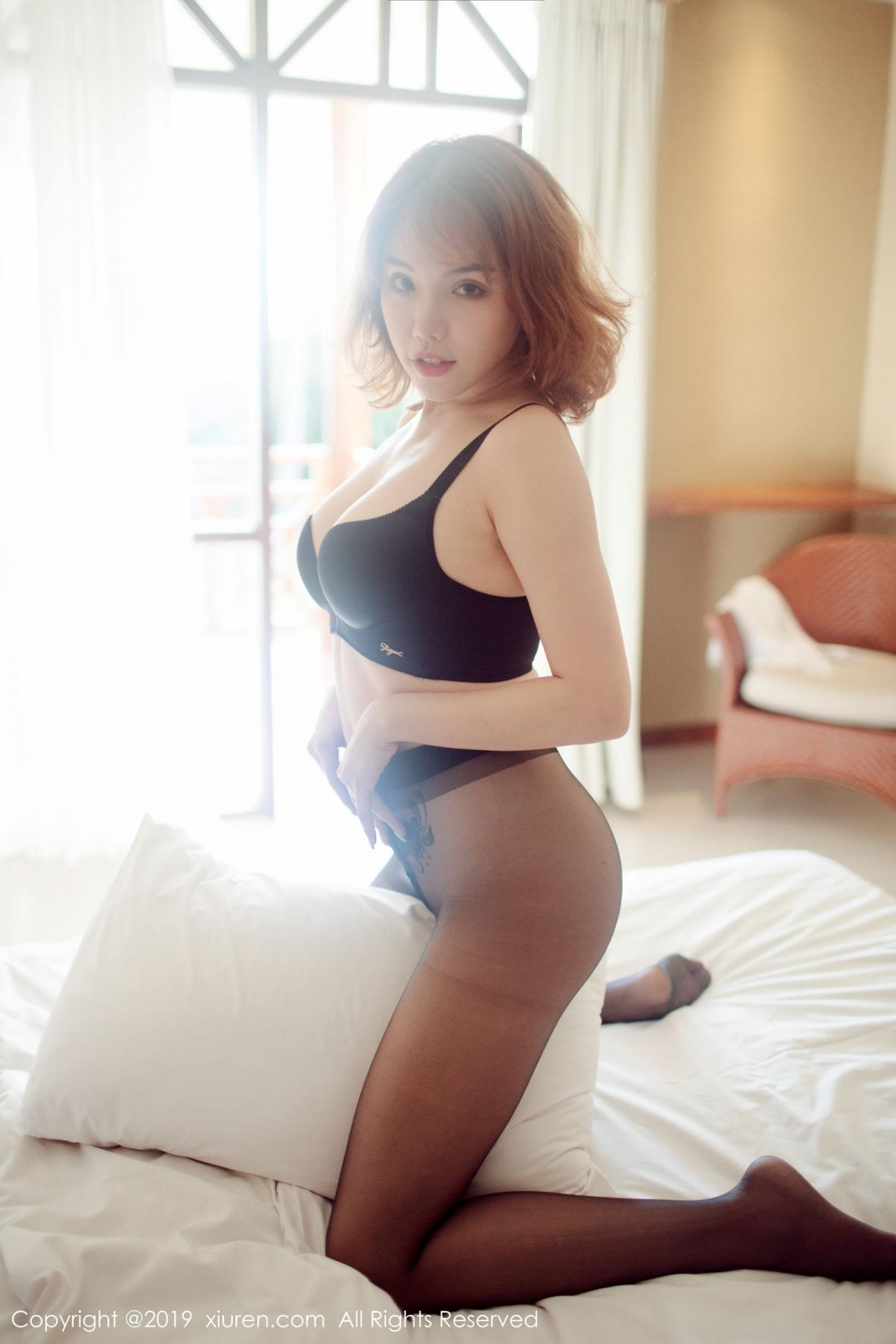 [XiuRen] Vol.1606 Huang Le Ran 47P, Black Silk, Huang Le Ran, Tall, Xiuren