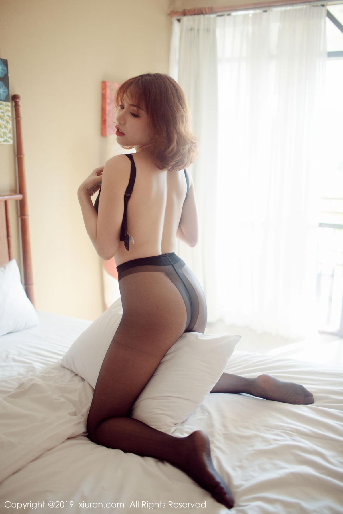 [XiuRen] Vol.1606 Huang Le Ran 48P, Black Silk, Huang Le Ran, Tall, Xiuren