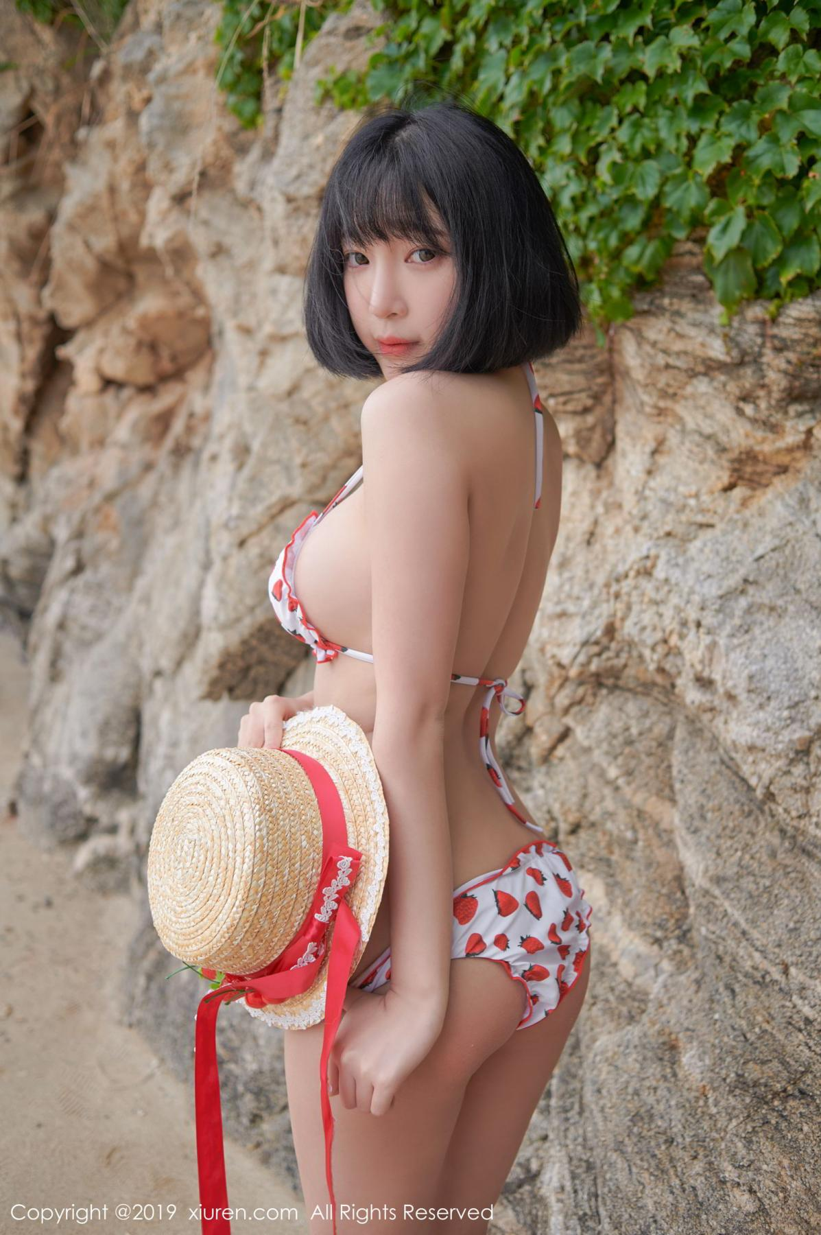 [XiuRen] Vol.1611 Model Qing Qing 29P, Beach, Bikini, Kang In Kyung, Xiuren