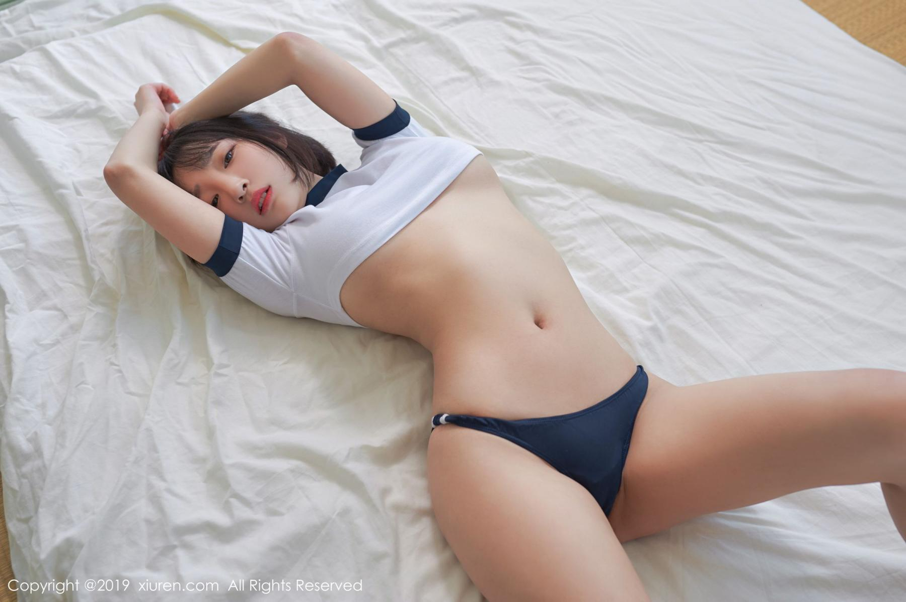 [XiuRen] Vol.1611 Model Qing Qing 41P, Beach, Bikini, Kang In Kyung, Xiuren