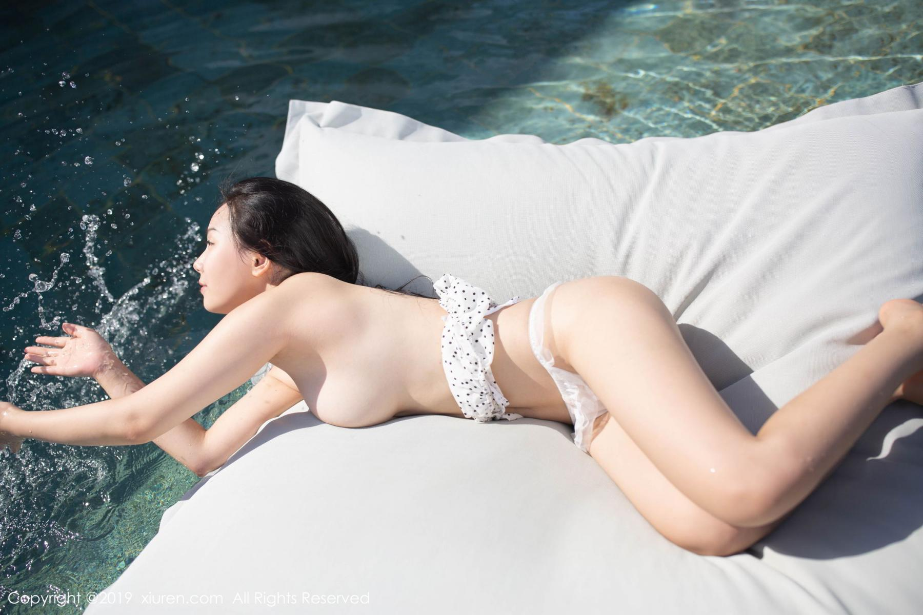 [XiuRen] Vol.1615 Xu Wei Wei 13P, Adult, Swim Pool, Wet, Xiuren, Xu Wei Wei