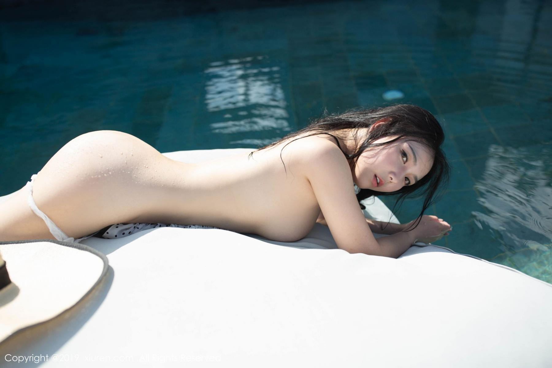 [XiuRen] Vol.1615 Xu Wei Wei 24P, Adult, Swim Pool, Wet, Xiuren, Xu Wei Wei