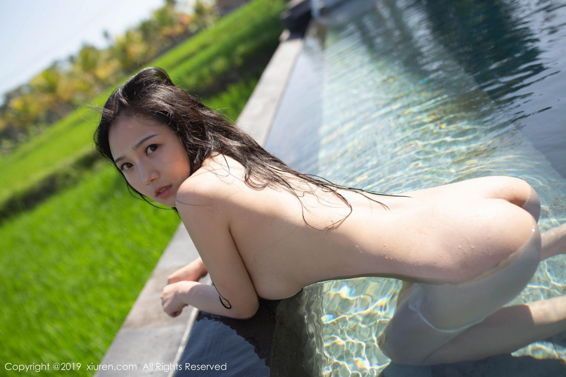 [XiuRen] Vol.1615 Xu Wei Wei 46P, Adult, Swim Pool, Wet, Xiuren, Xu Wei Wei